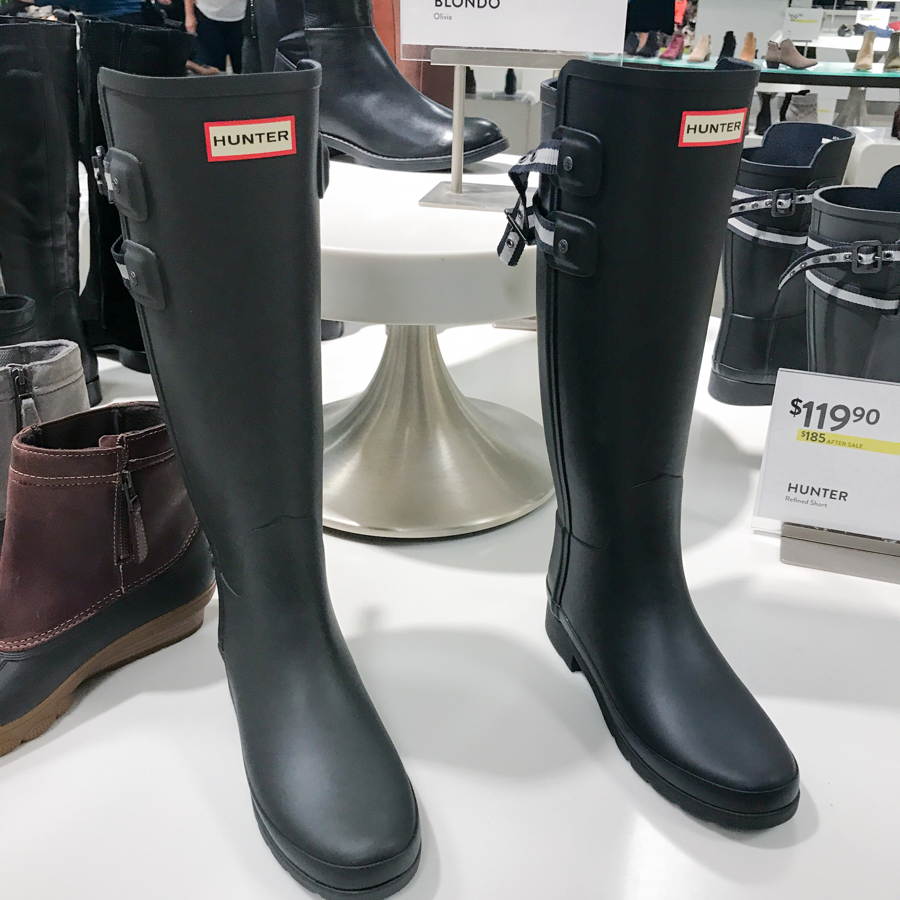 4feb75fb5 Hunter Boots — Still in stock! Tick Tock: What's Still in Stock - Nordstrom  Anniversary Sale