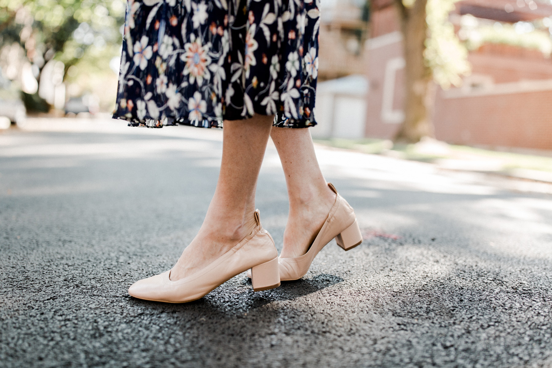Comfortable preppy pumps
