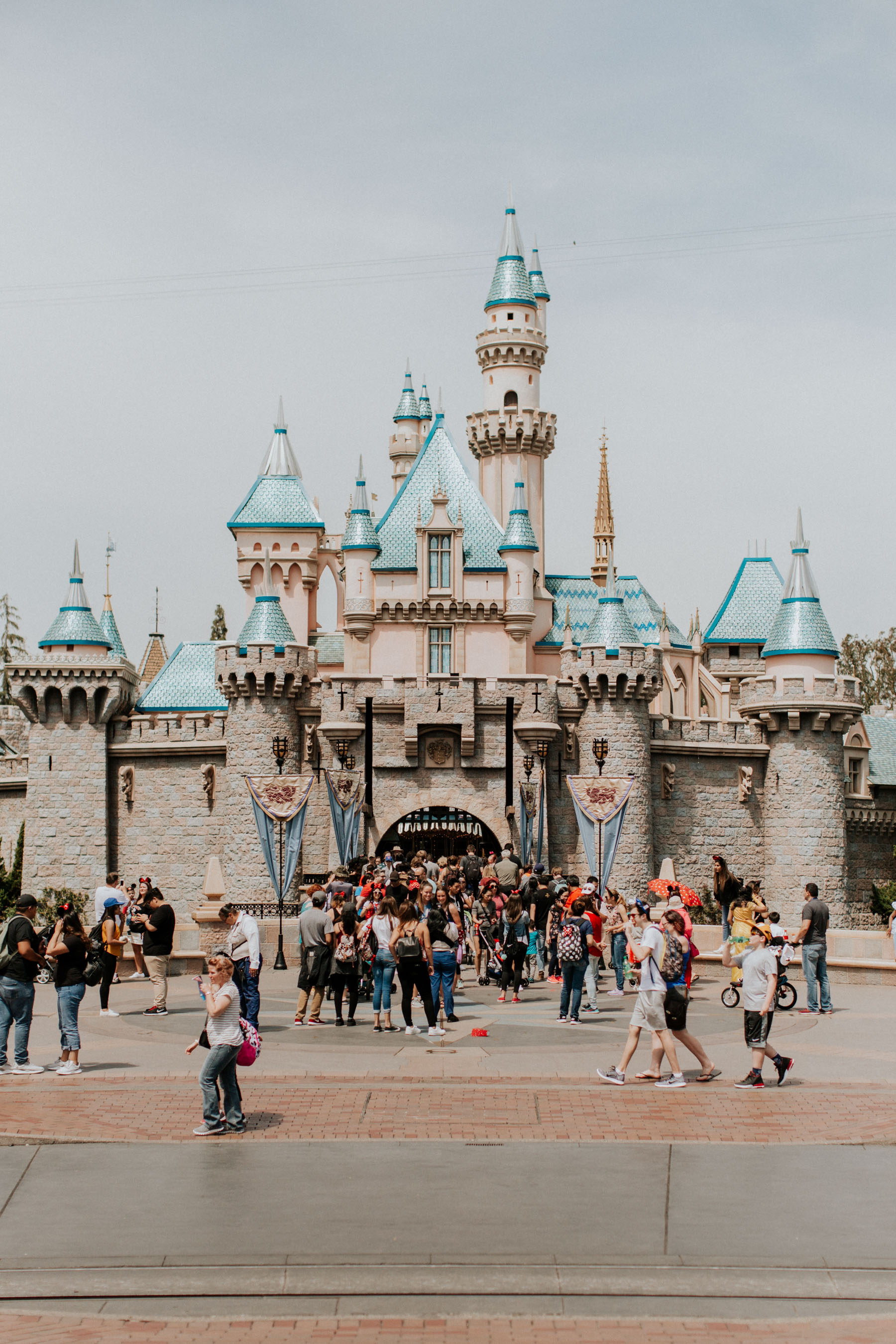 The Day We Spent in Disneyland | Kelly in the City
