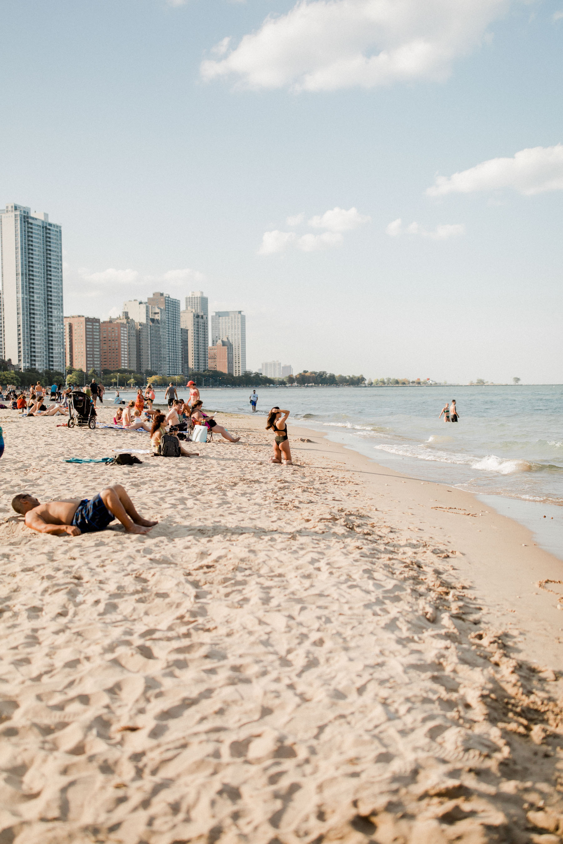 Oak Street Beach Chicago Kelly In The City