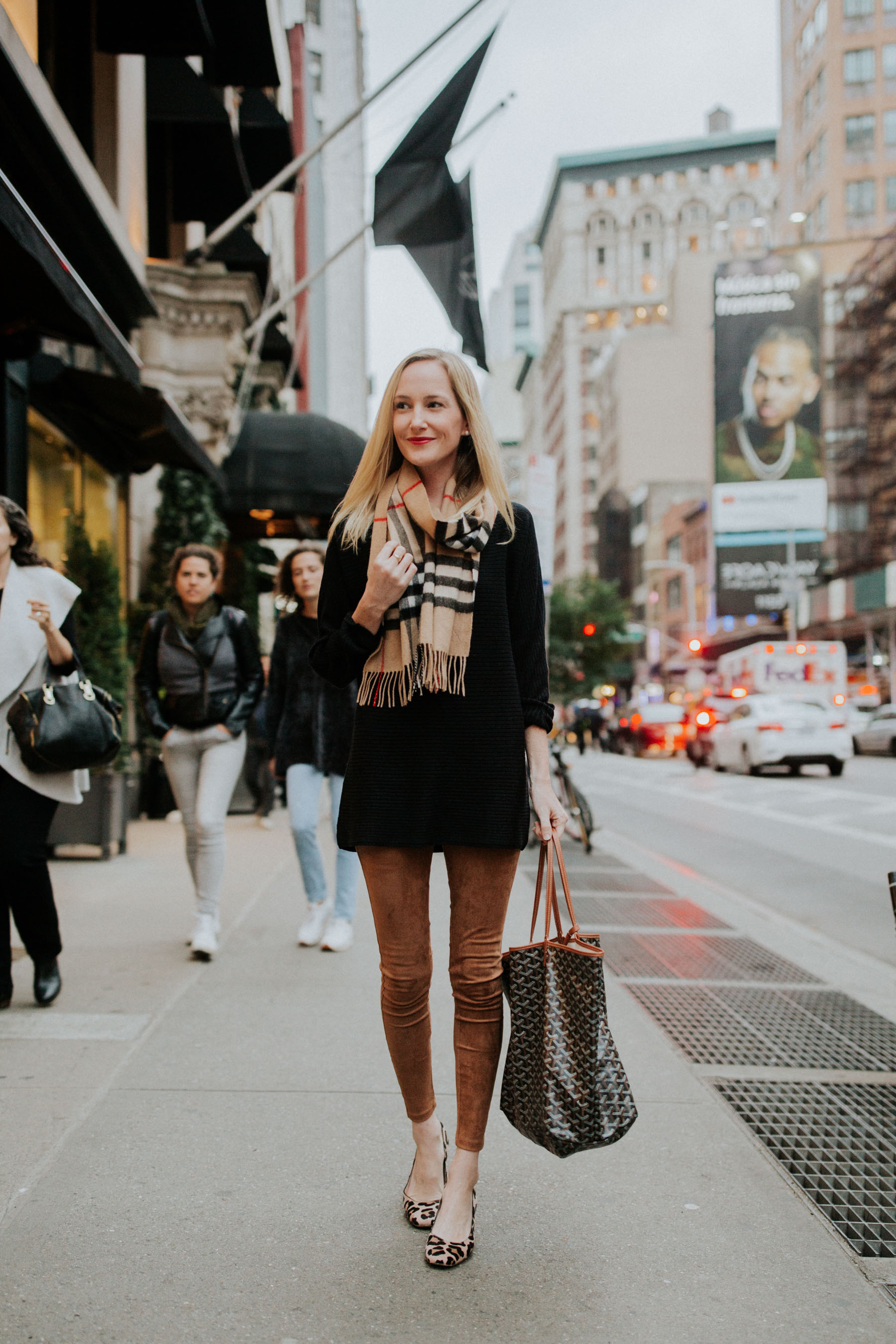 The perfect outfit for NYC