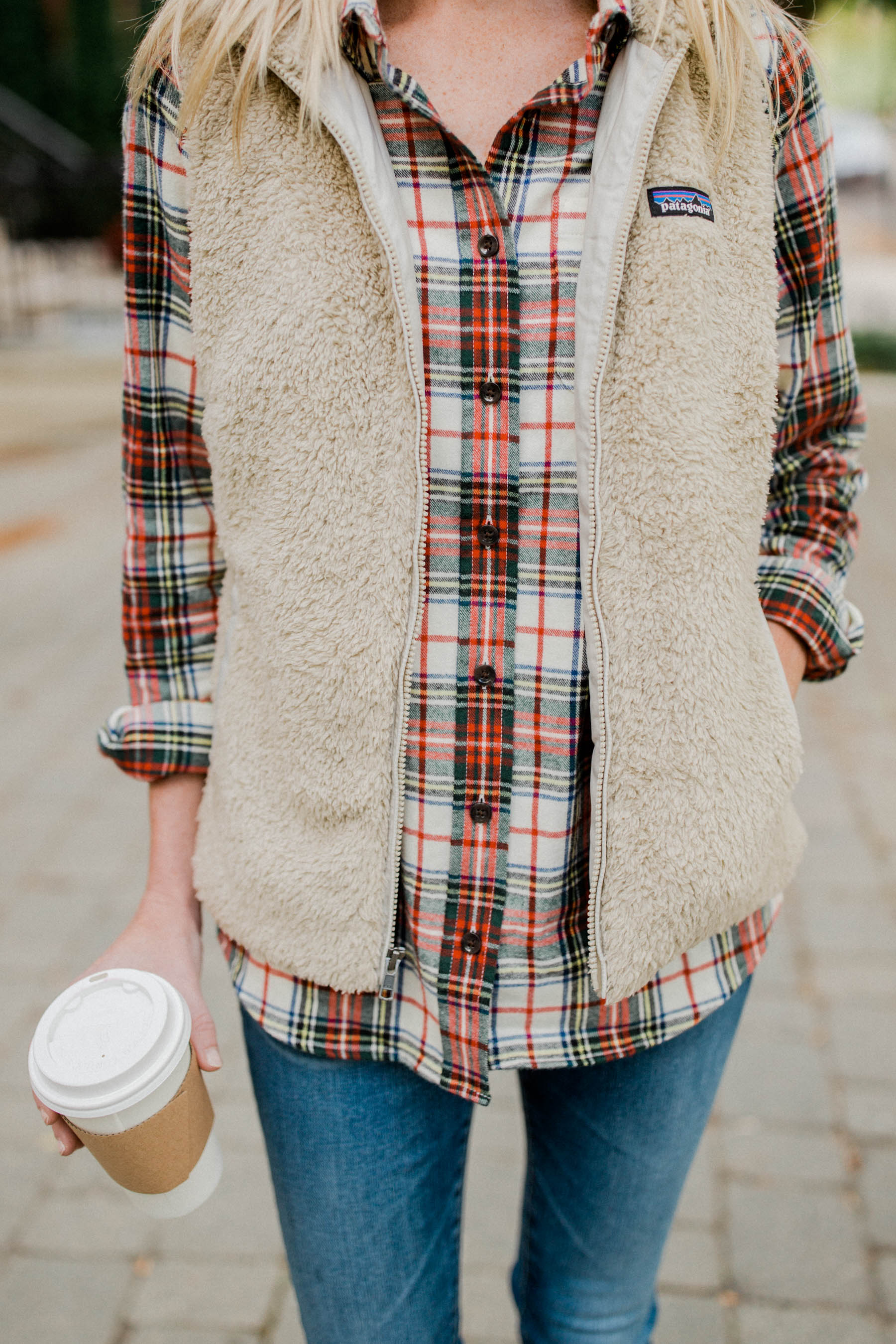 The Perfect Plaid Shirt Preppy Style Blogger Kelly In
