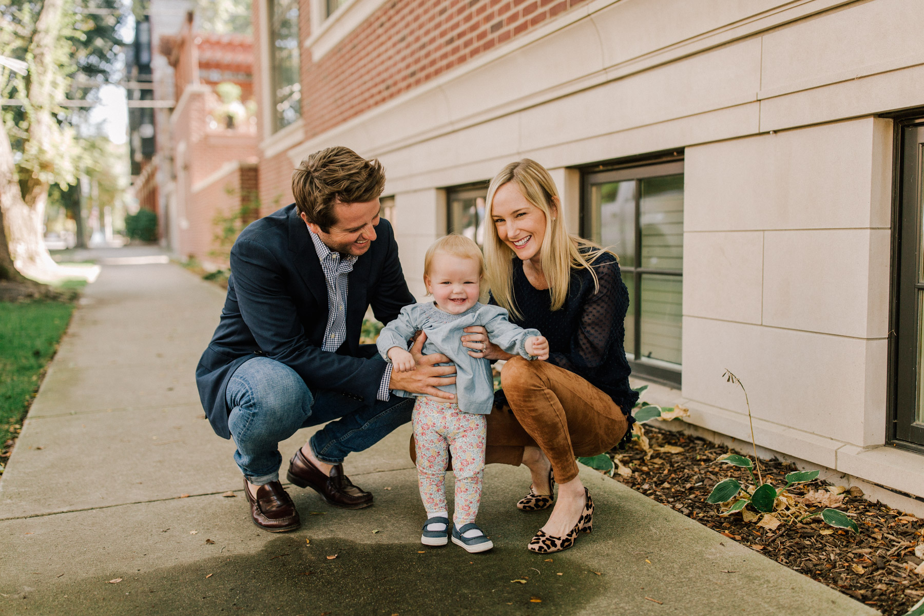 preppy suede leggings and big family news