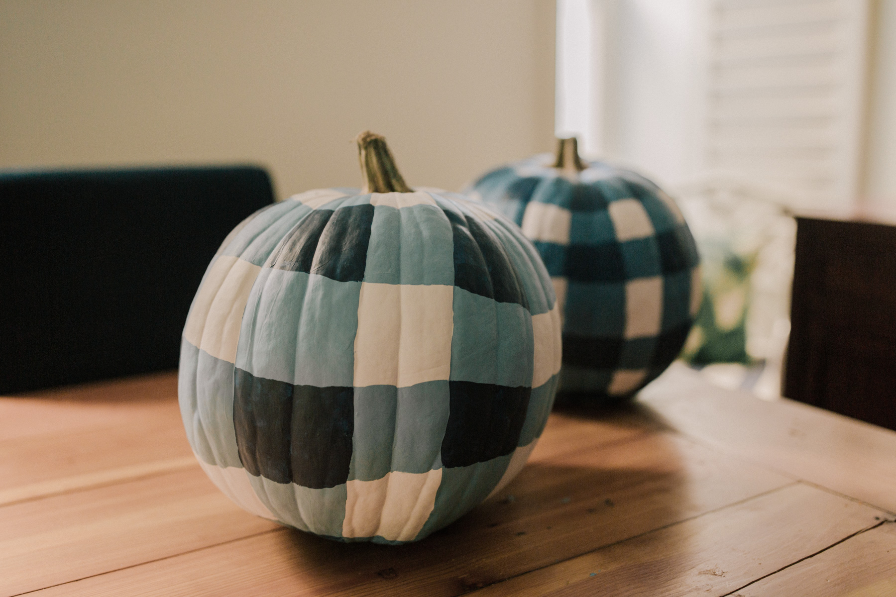 DIY Gingham Pumpkins Tutorial - Step 5