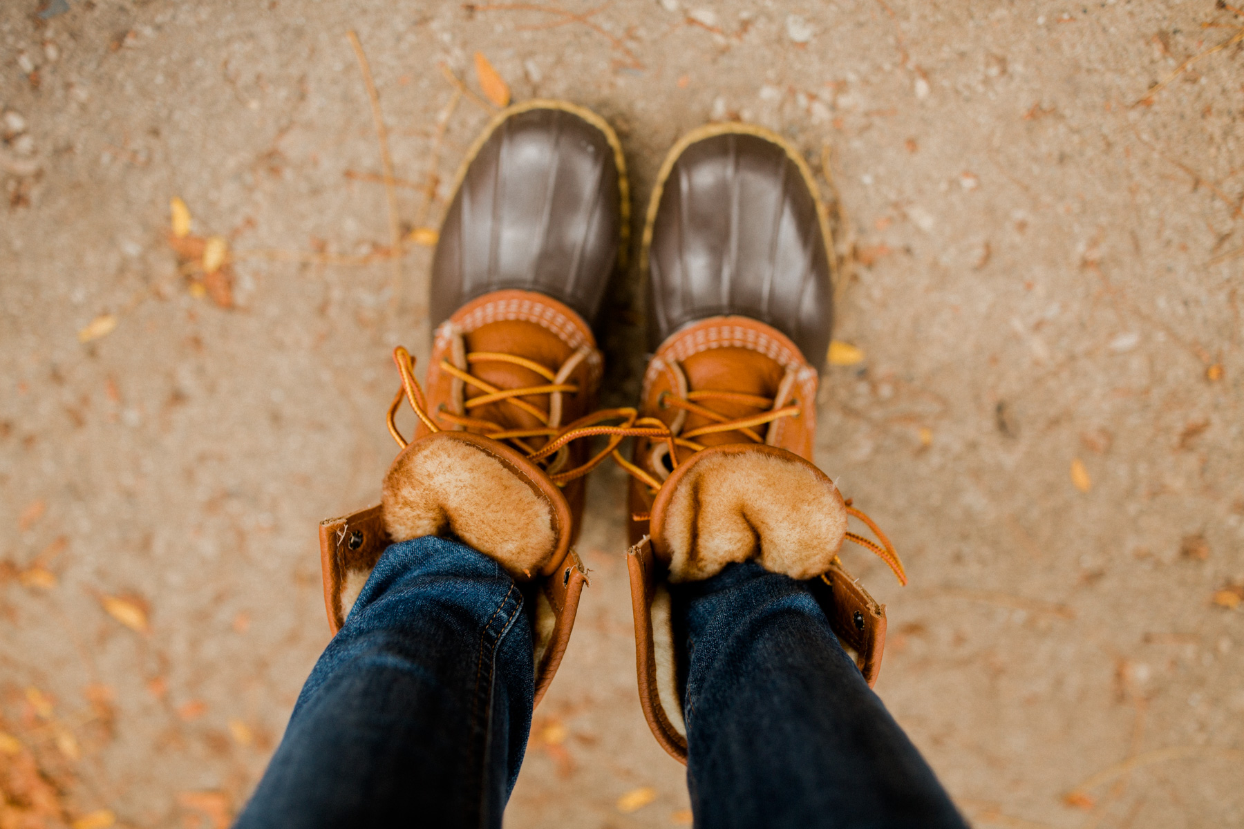 L.L.Bean boots - Kelly in the City