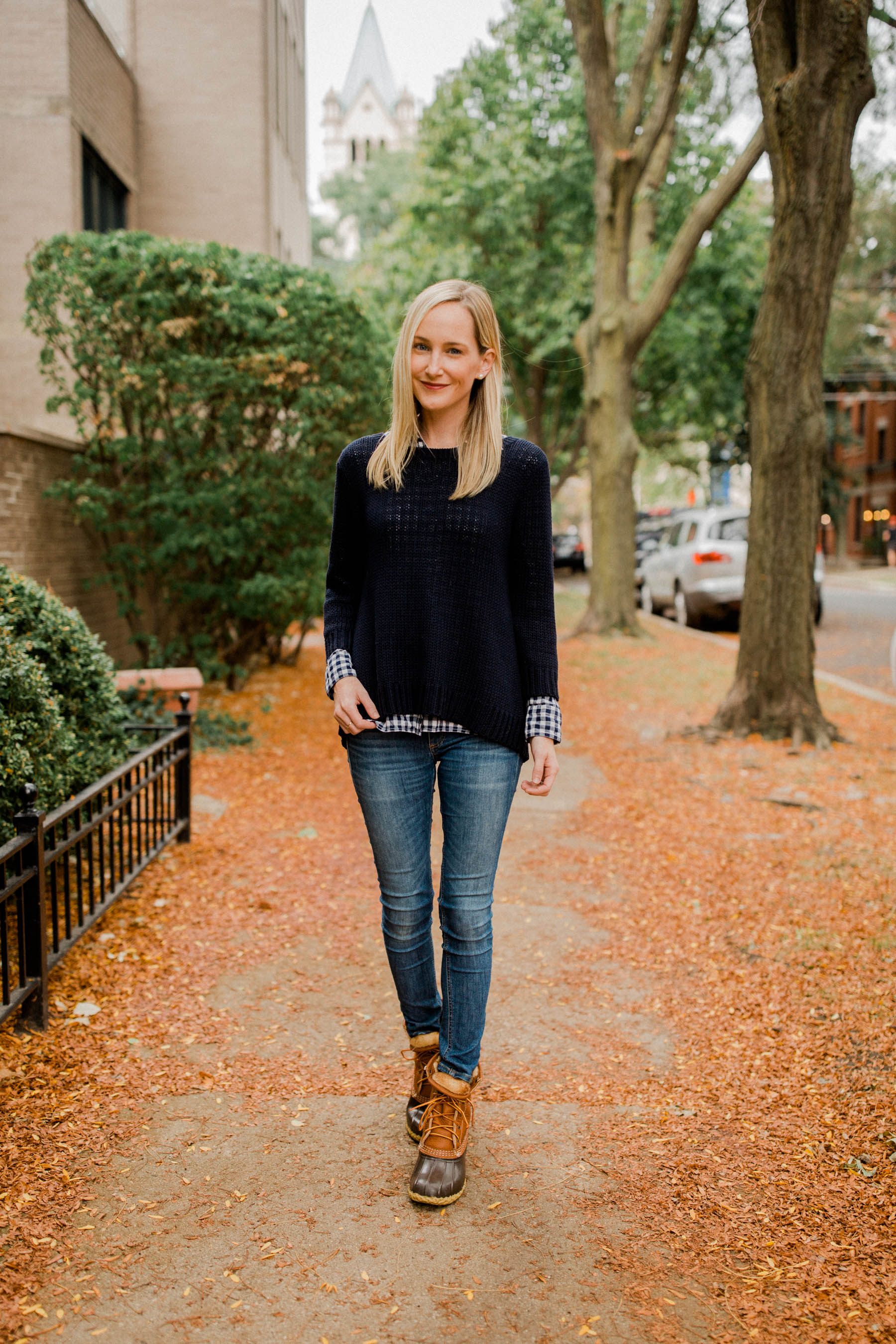 L.L.Bean Shearling Boots - Kelly in the City