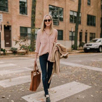 Pink Flannel Sunday Shirt
