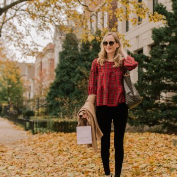 An Easy + Warm Preppy Thanksgiving Outfit