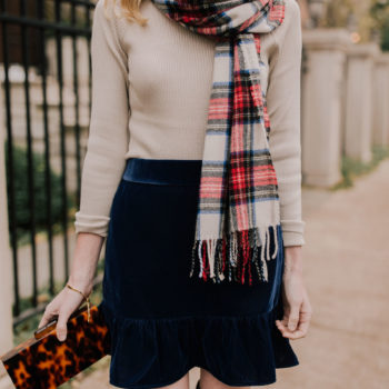 10+ Velvet Skirts for the Holidays