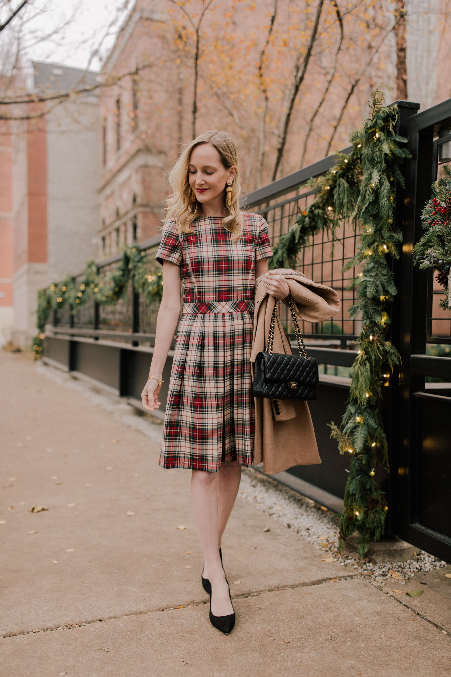 Bow Tie New City >> The Best Stewart Plaid Clothing - Kelly in the City
