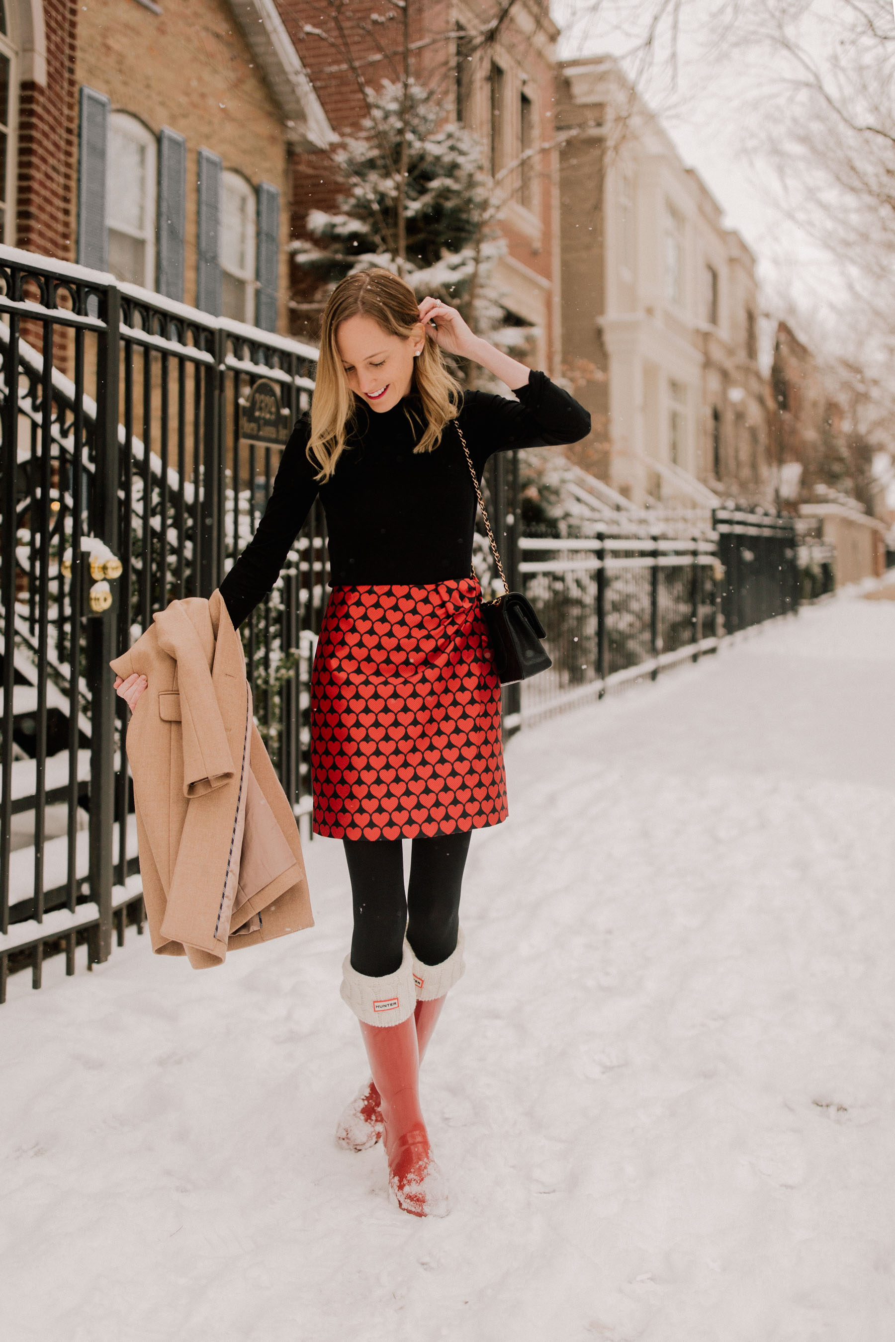 Valentine's Day Outfit - Kelly in the City