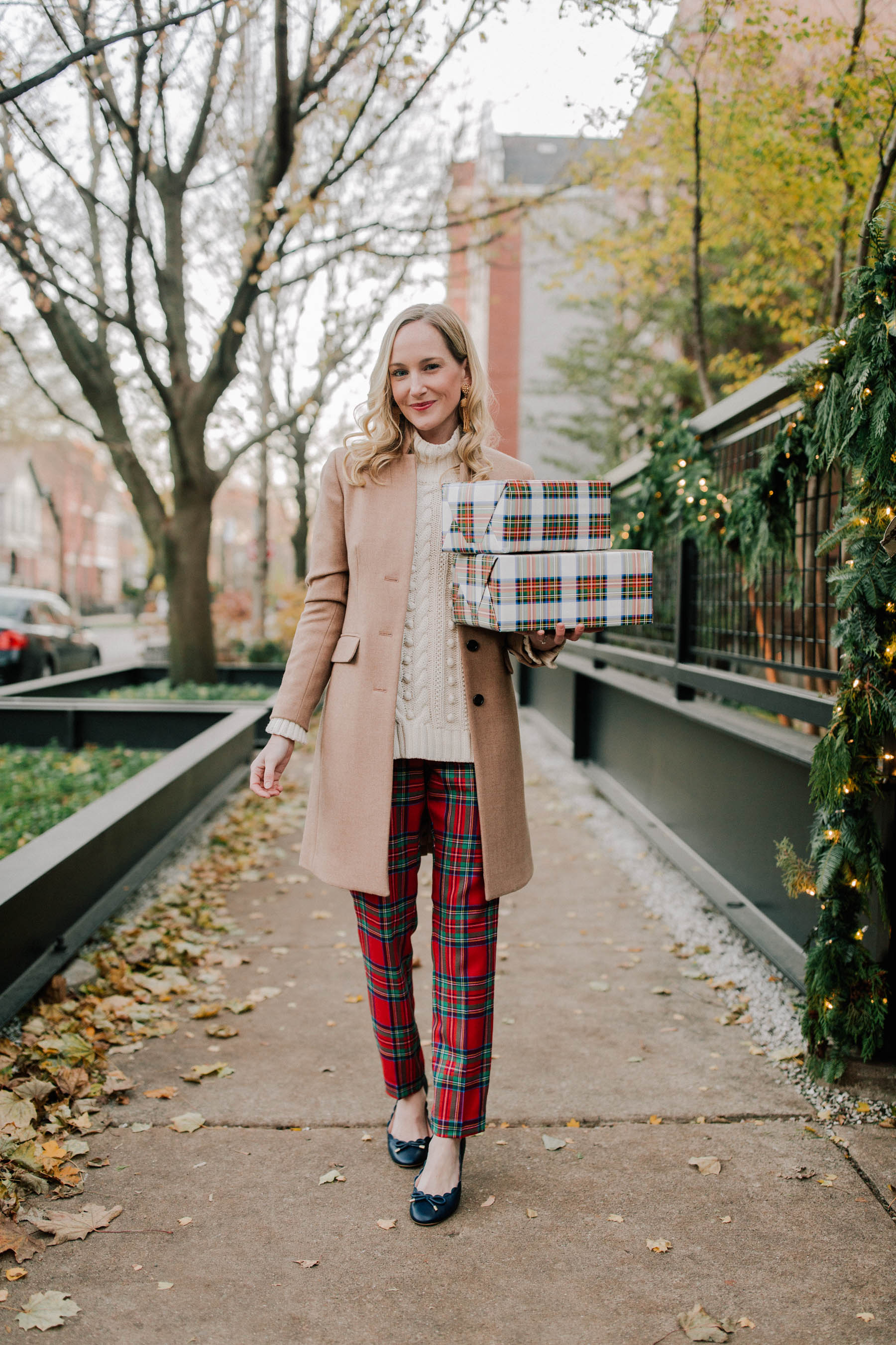 Plaid On Sale Kelly In The City