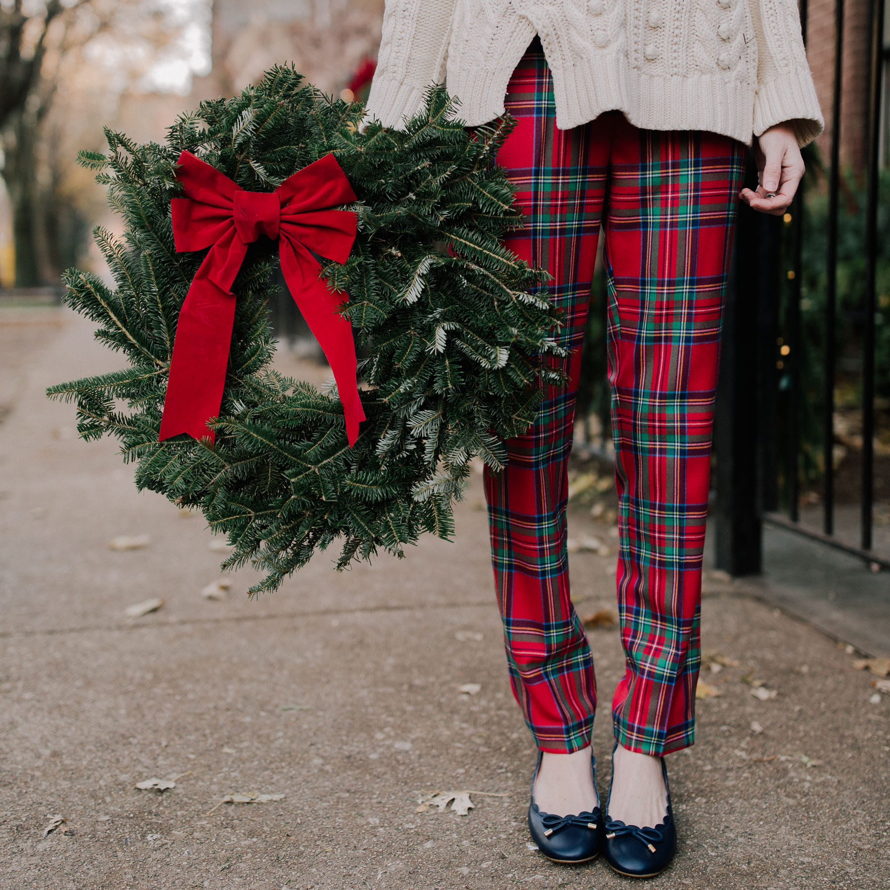Plaid pants on Sale