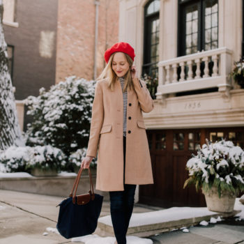 Saddle Shoes & a Red Beret