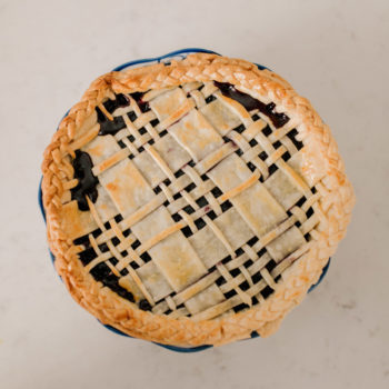 Cookin' with Mitch: Plaid Blueberry Pie