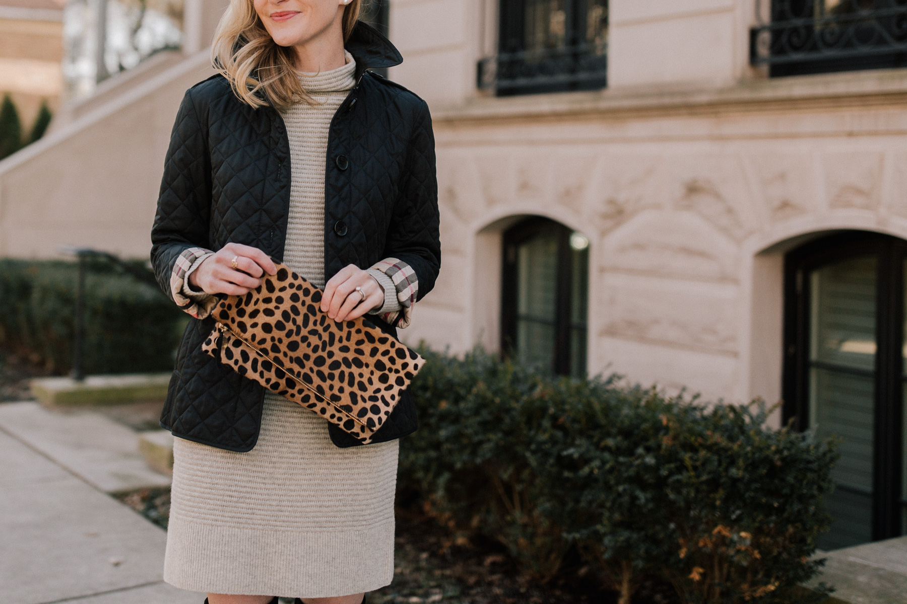 recent finds: sale picks plus this leopard clutch