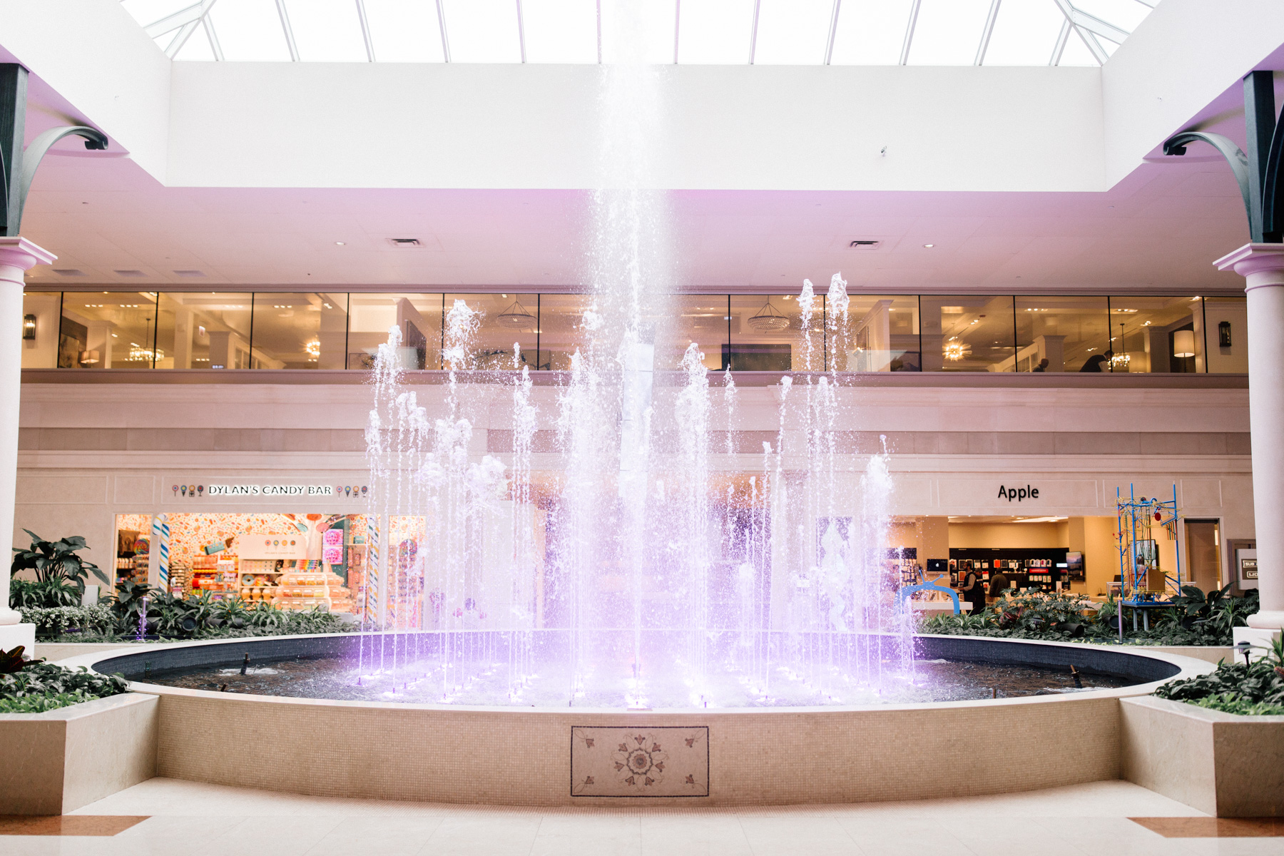 Fountain at the Mall