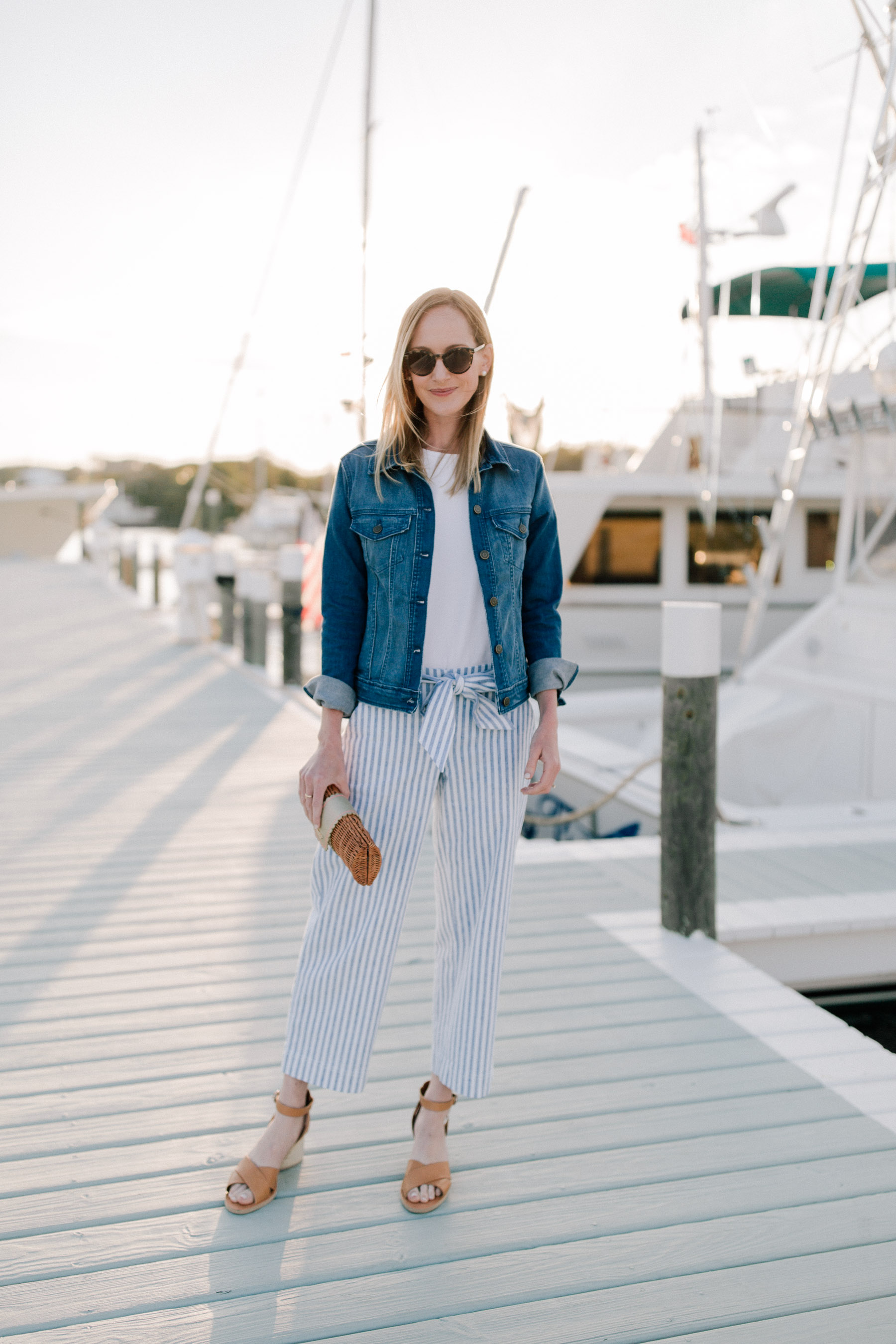 Vineyard Vines Striped Pants Outfit