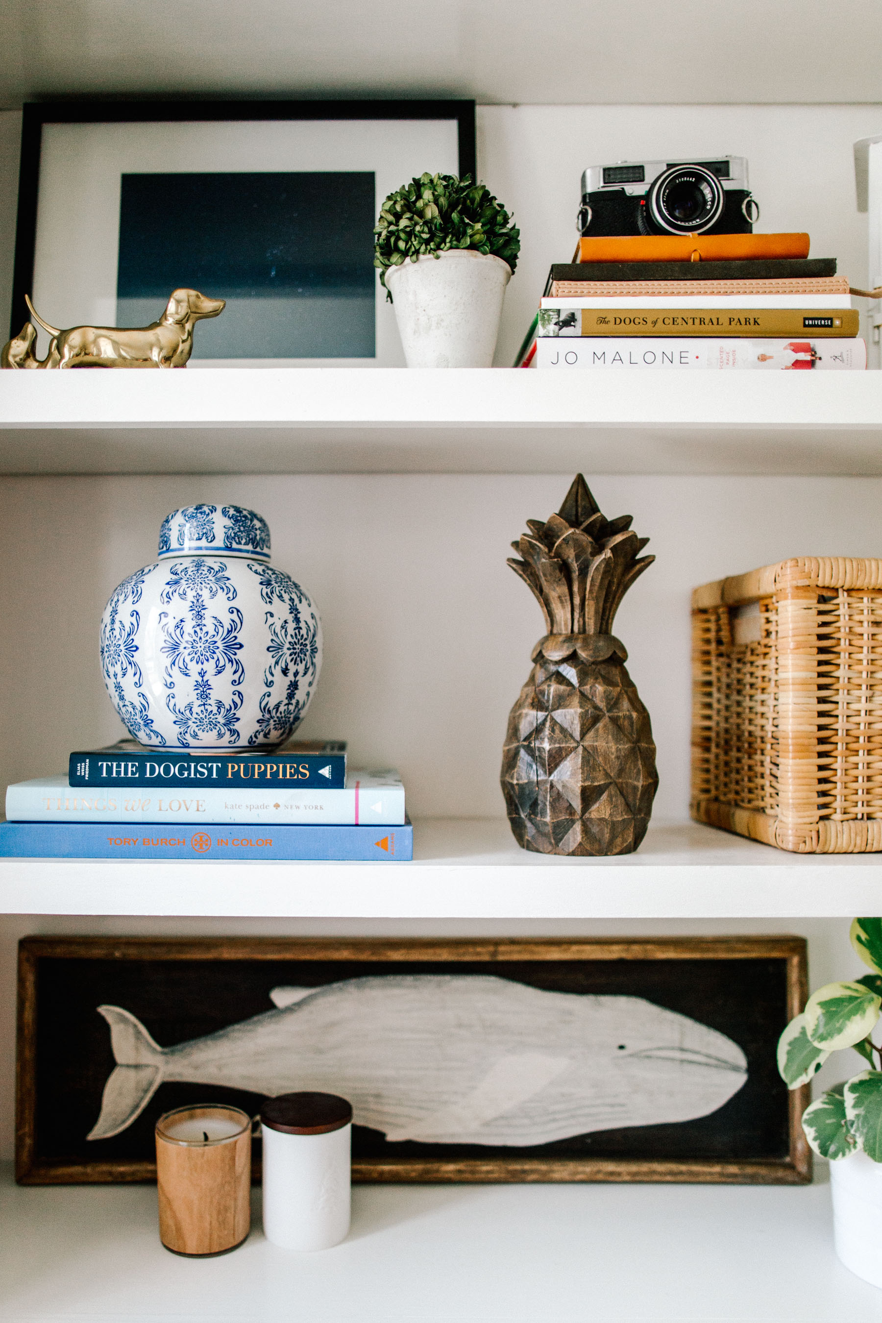 How to Decorate Bookshelves - Kelly in the City