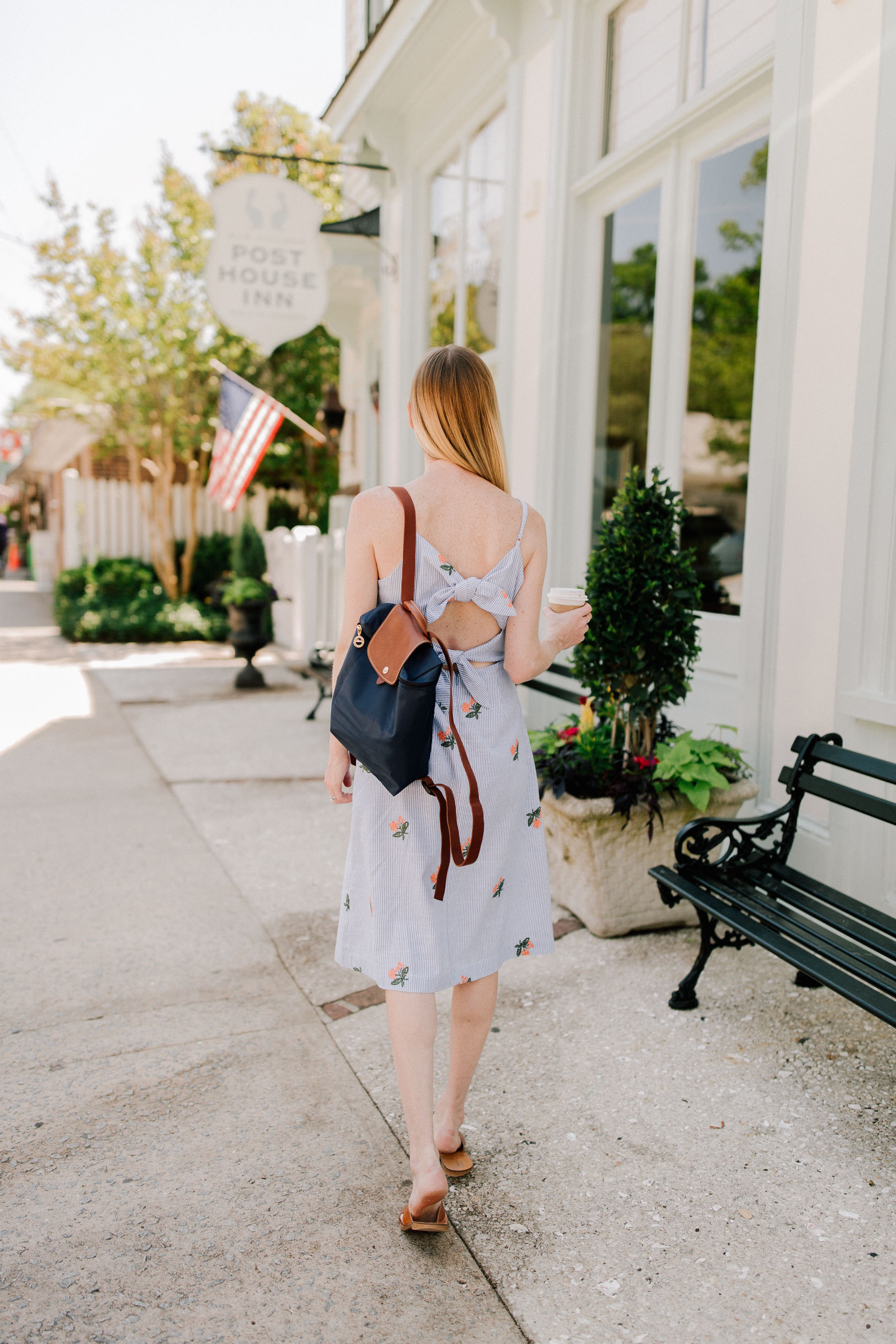 Bow Back Dress Giveaway