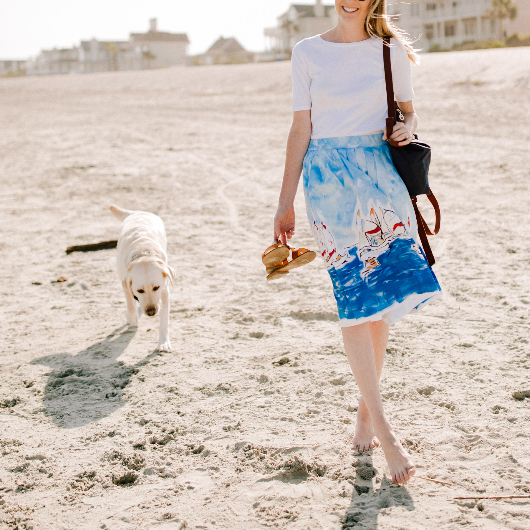 Isle of Palms - Kelly in the City Regatta Skirt