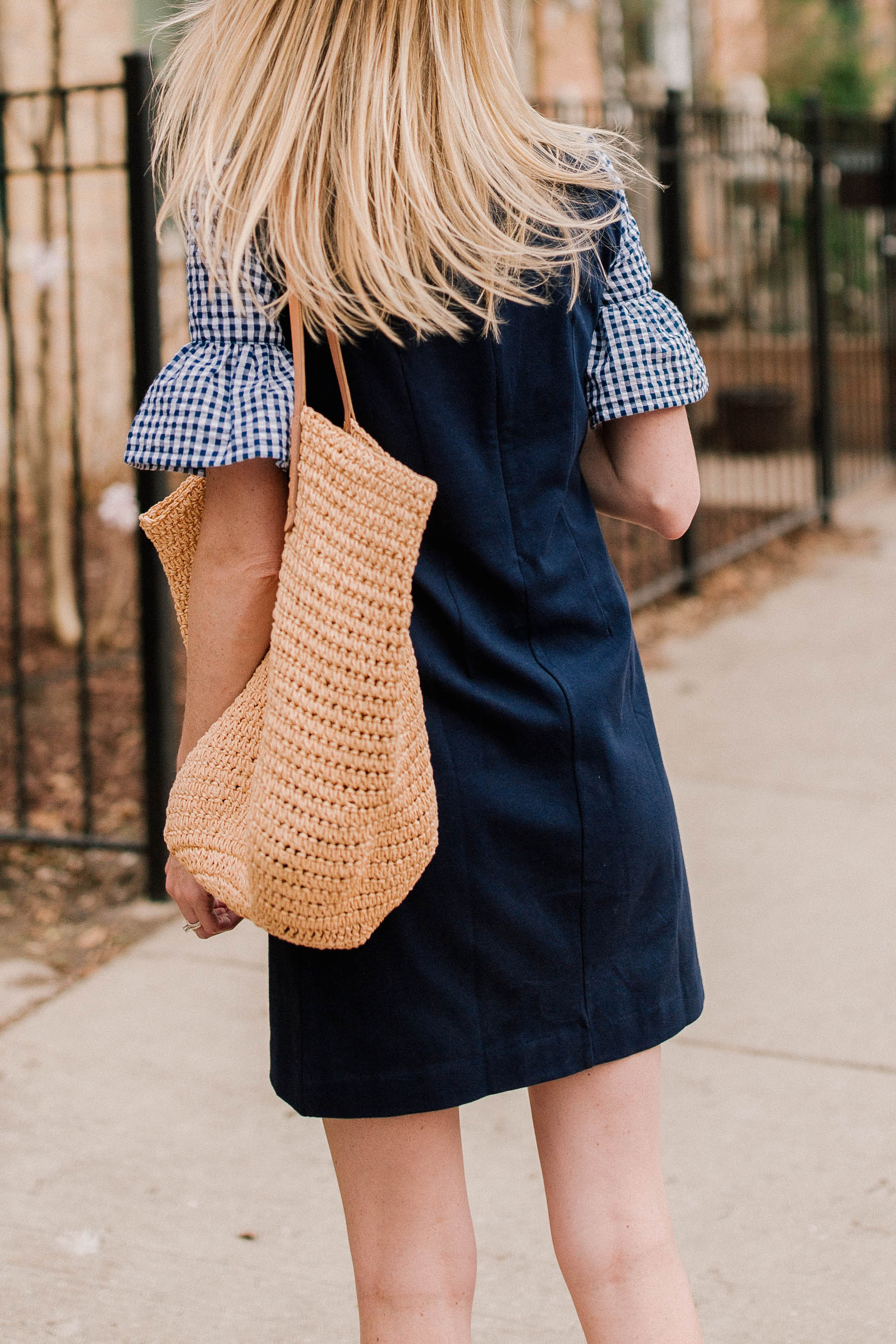 Ruffled Gingham Sleeve Dress Plus An Update Kelly In The