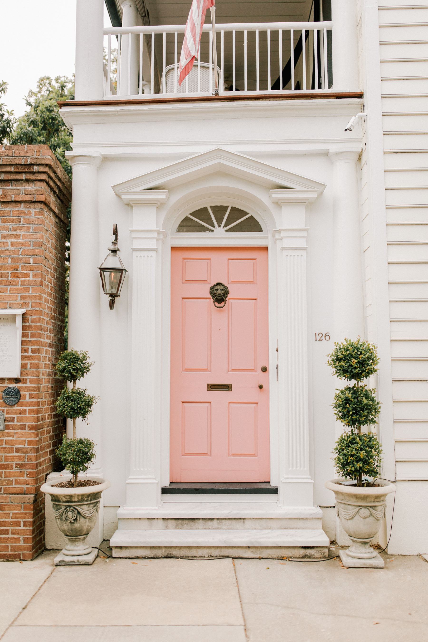 Pink Door, White House