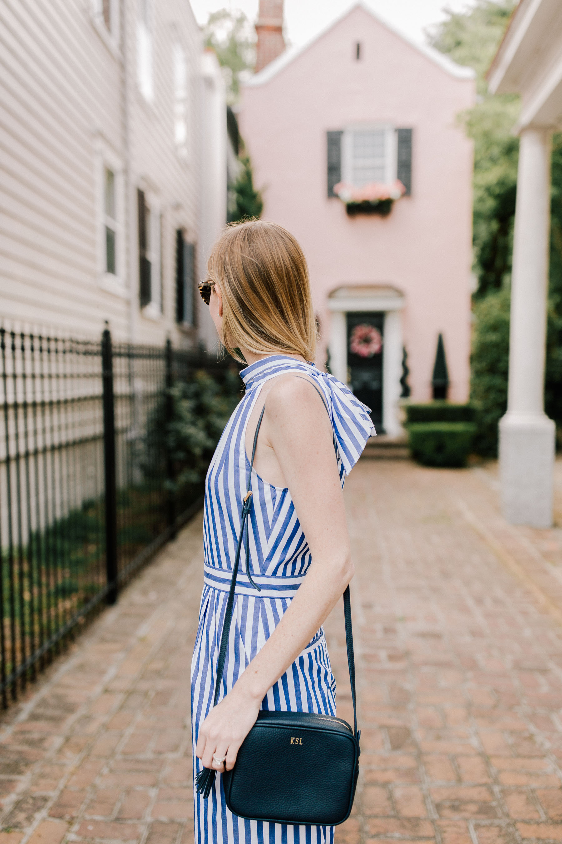 Little Pink Houses: Striped Jumpsuit