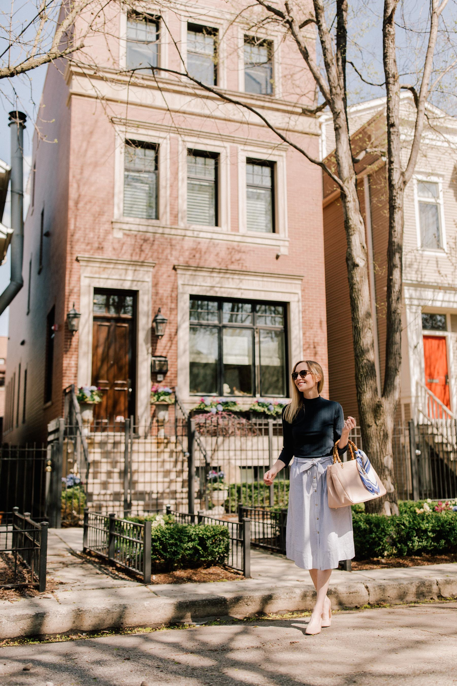 Preppy Chicago Lifestyle blogger