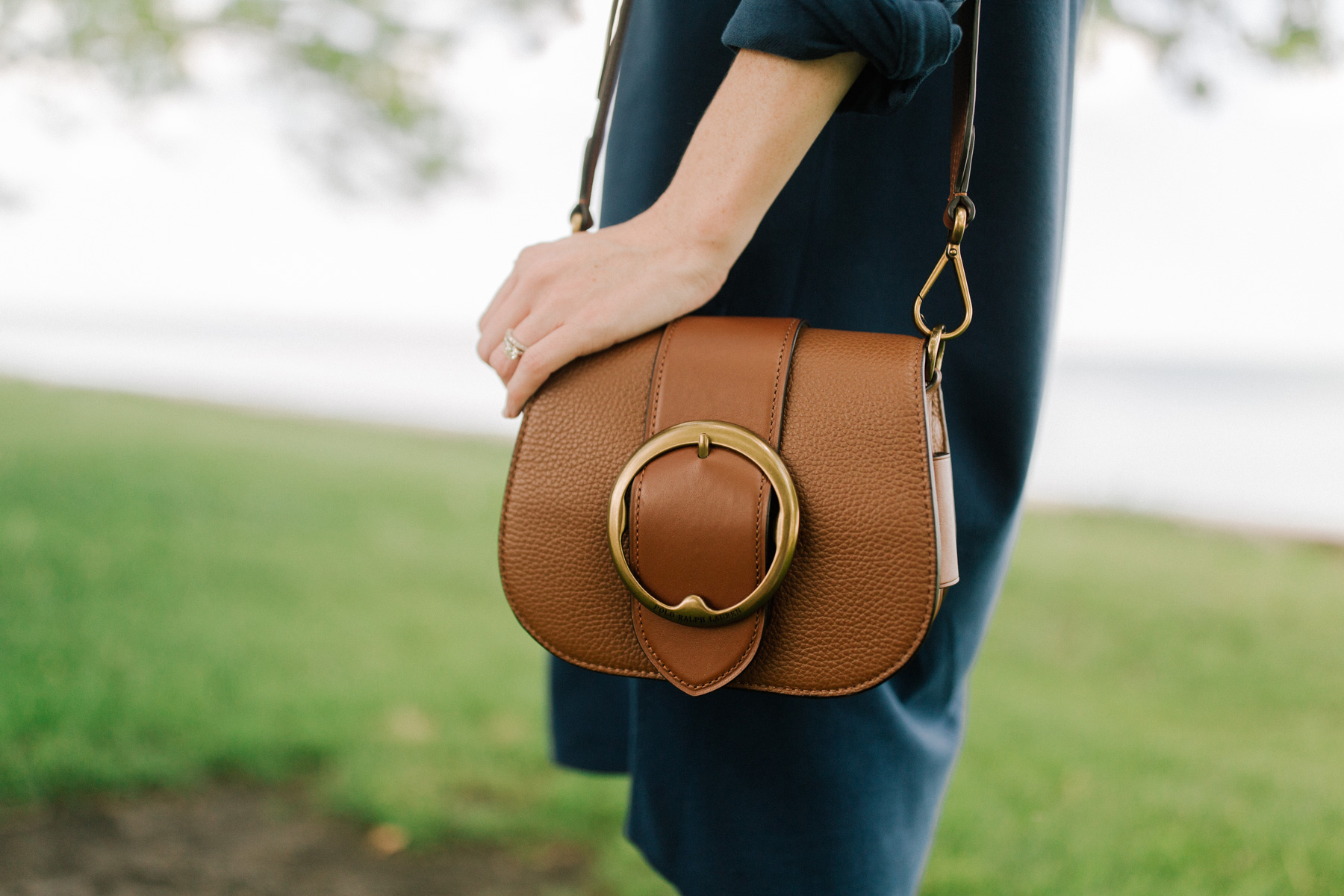 Leather Lennox Bag - Kelly in the City