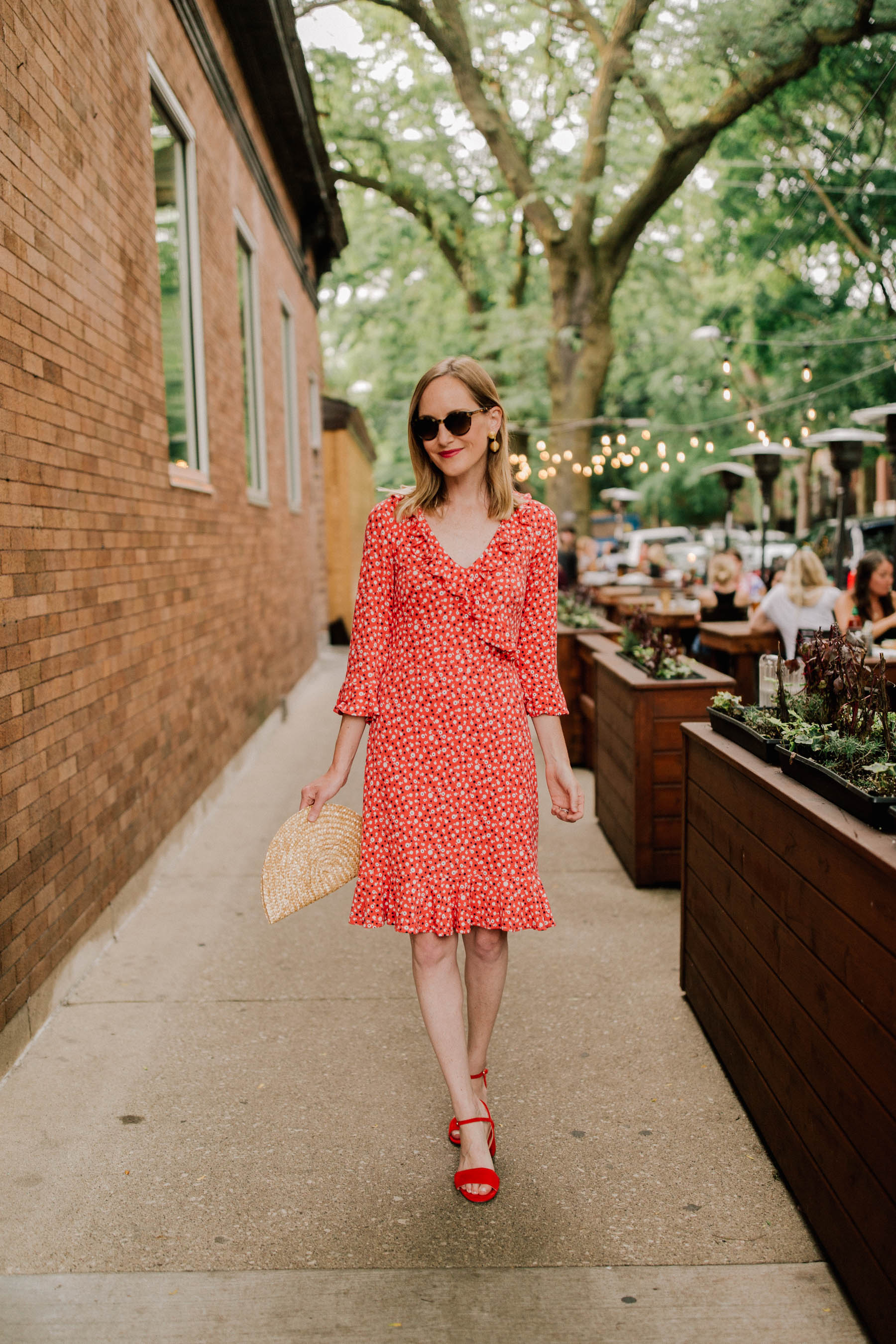 Little Red Dress Back In Stock Kelly In The City