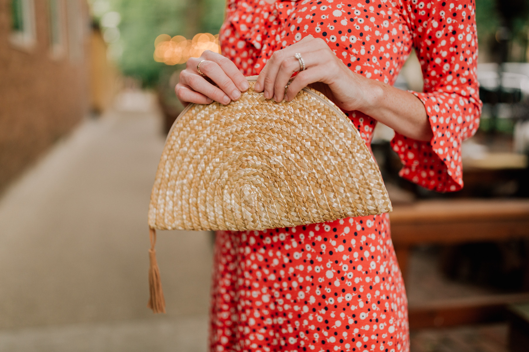 woven bag - Kelly in the City
