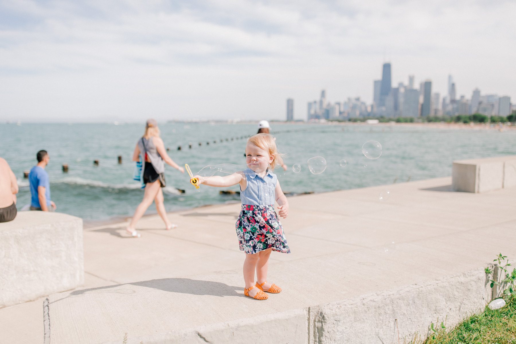 Baby Emma is wearing nautica toddler dress via Amazon - Kelly in the City