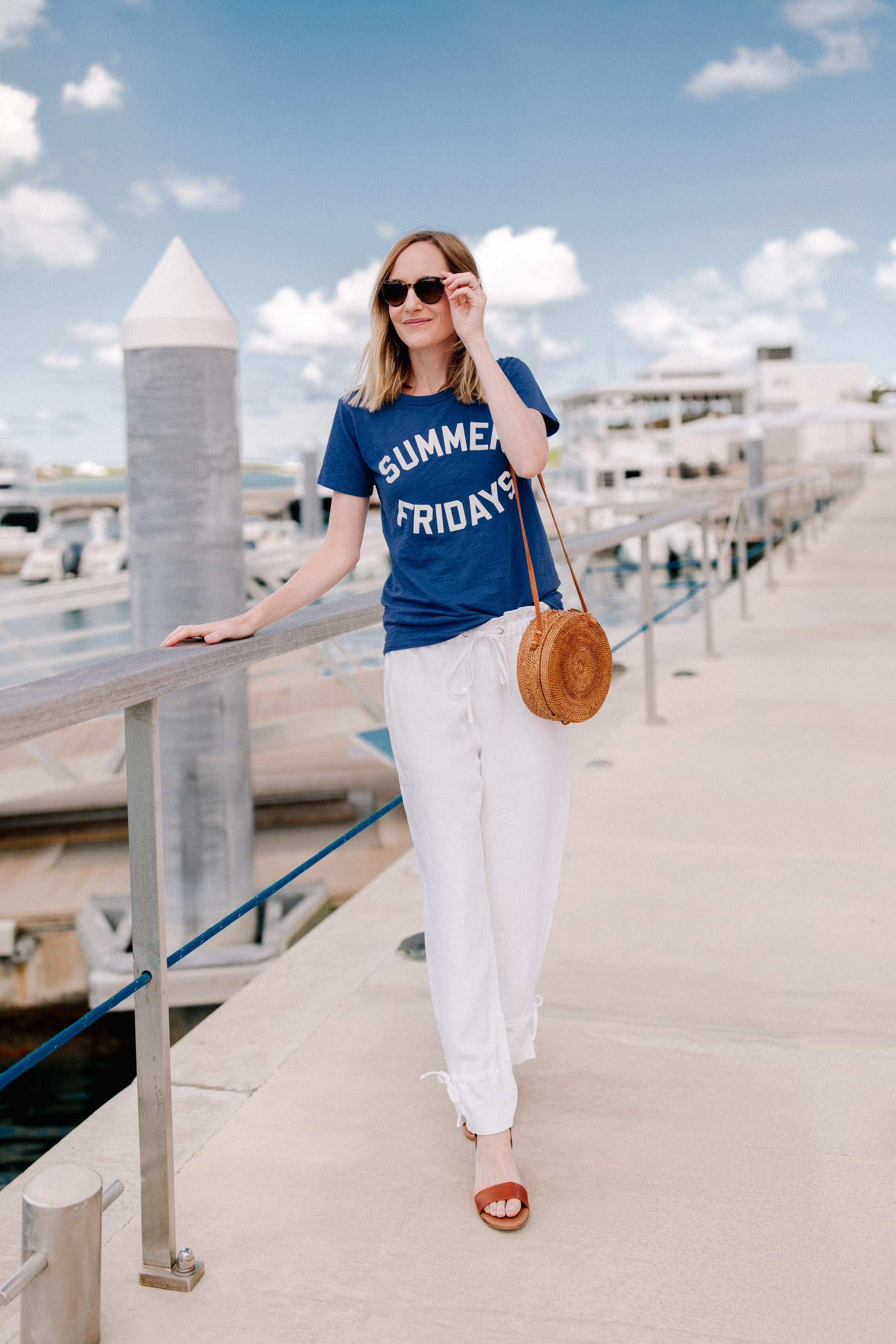 J. Crew Summer Friday  - Kelly in the City