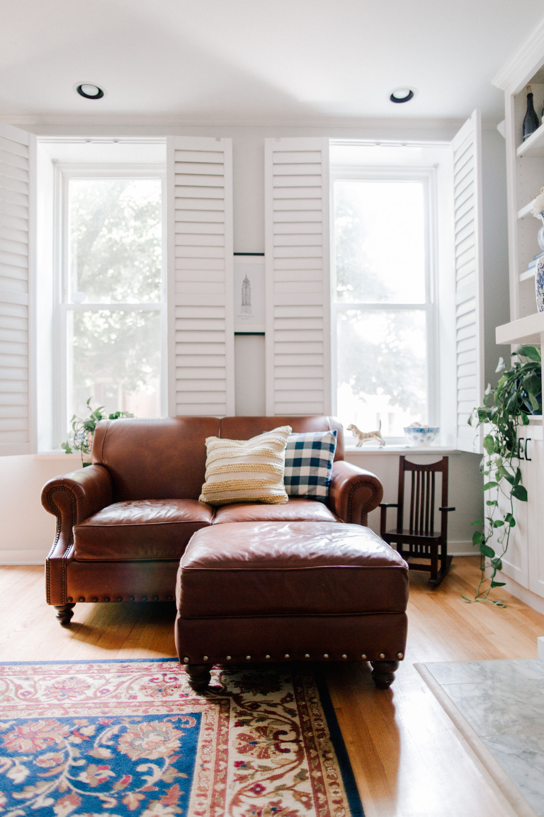 Living Room Renovation by Kelly Larkin | Kelly in the City
