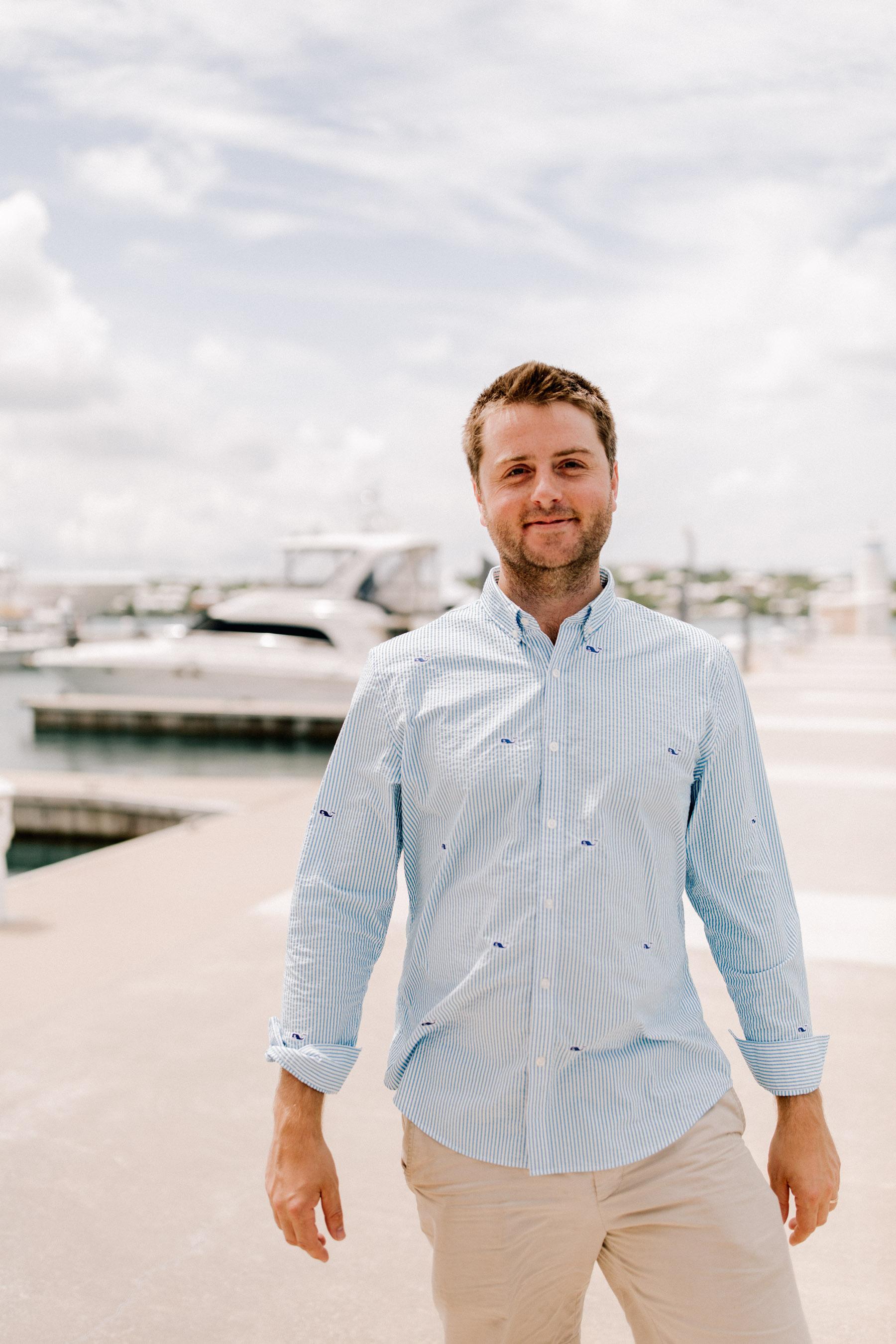 Mitch in Bermuda