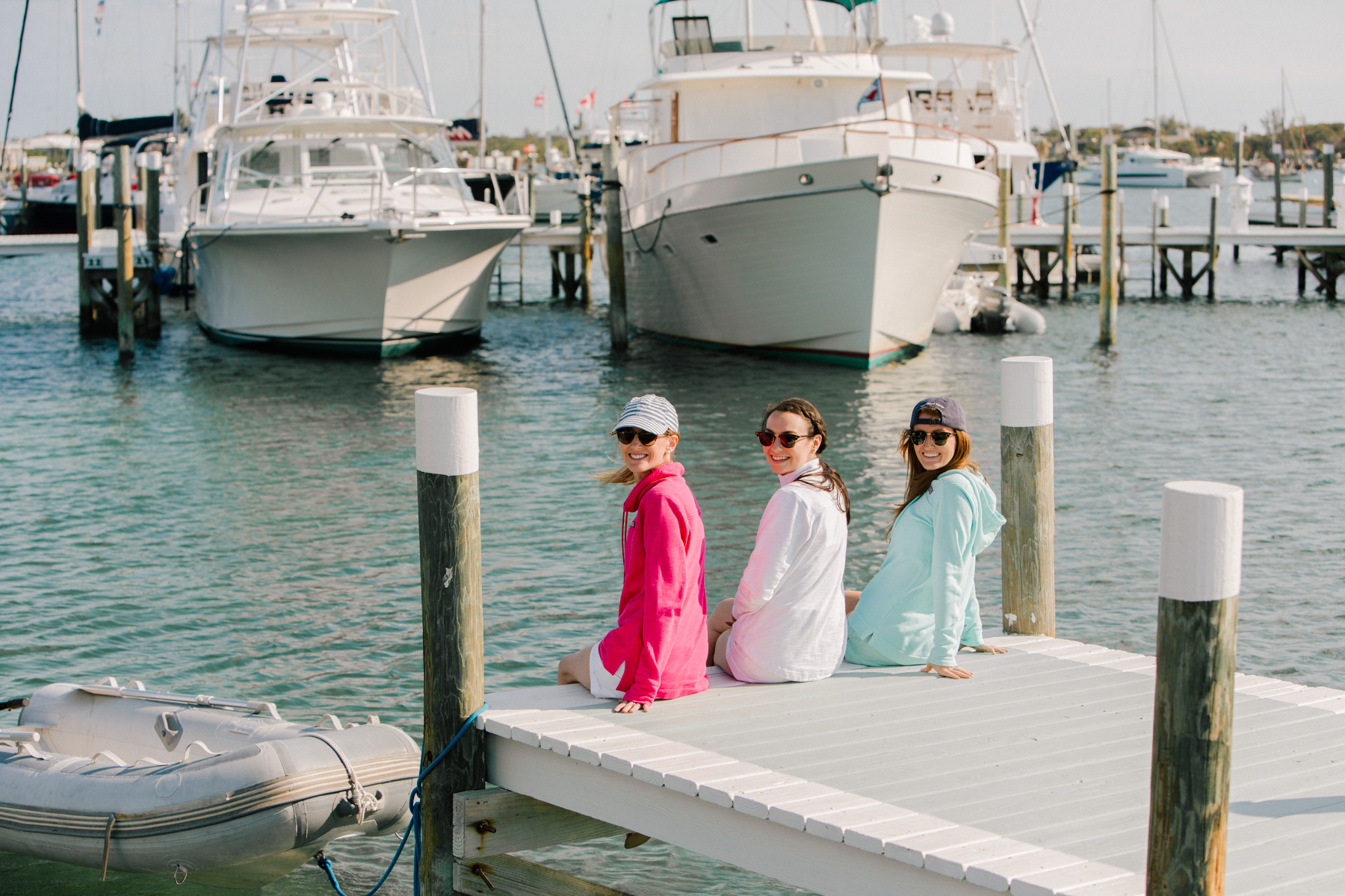 Kelly and her friends  - Vineyard Vines Shep Shirts - Kelly in the City