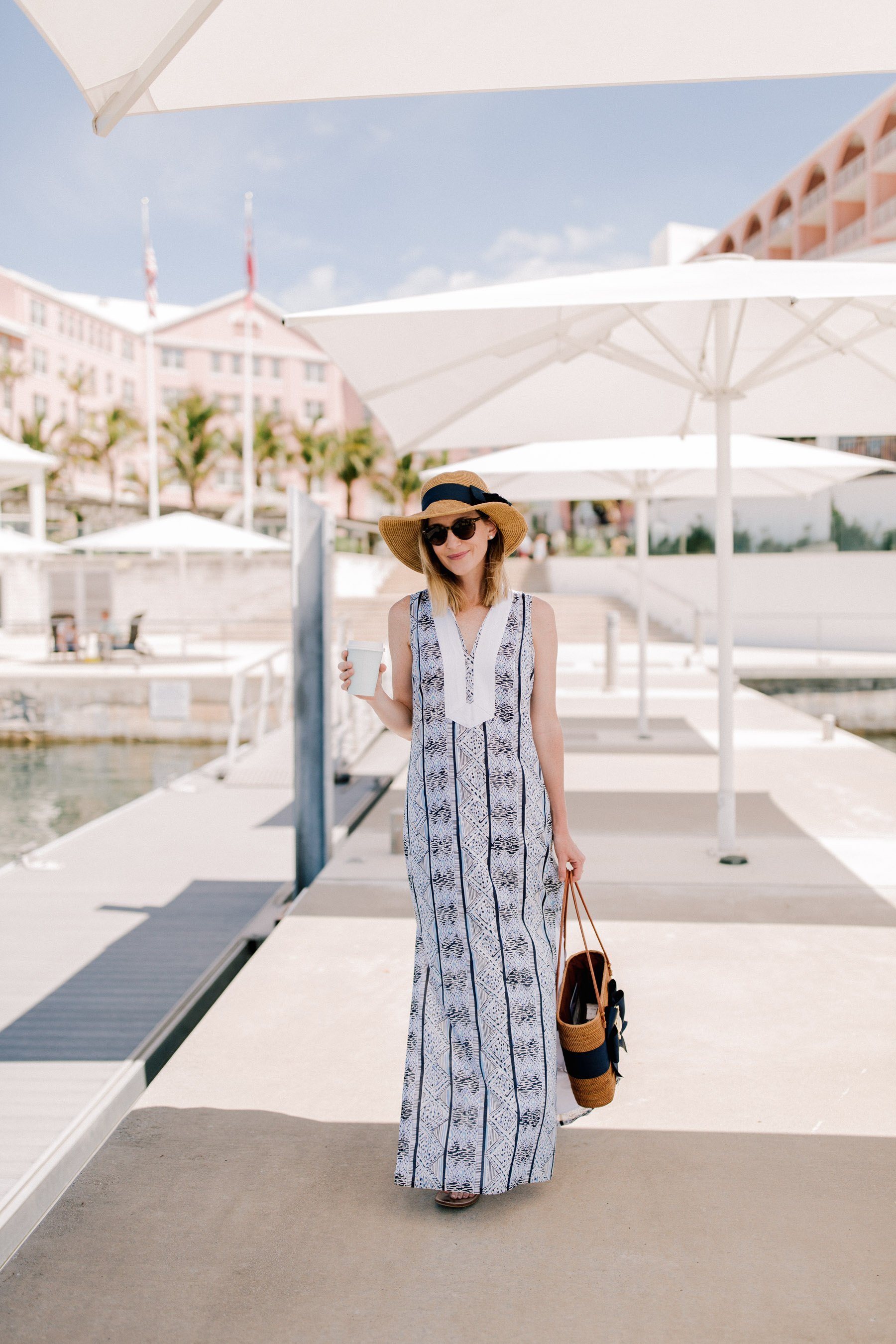 Tuckernuck - MAXI TUNIC DRESS BY SAIL TO SABLE