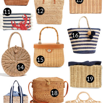 Preppy Woven Bags