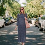 1901 Stripe Midi Dress