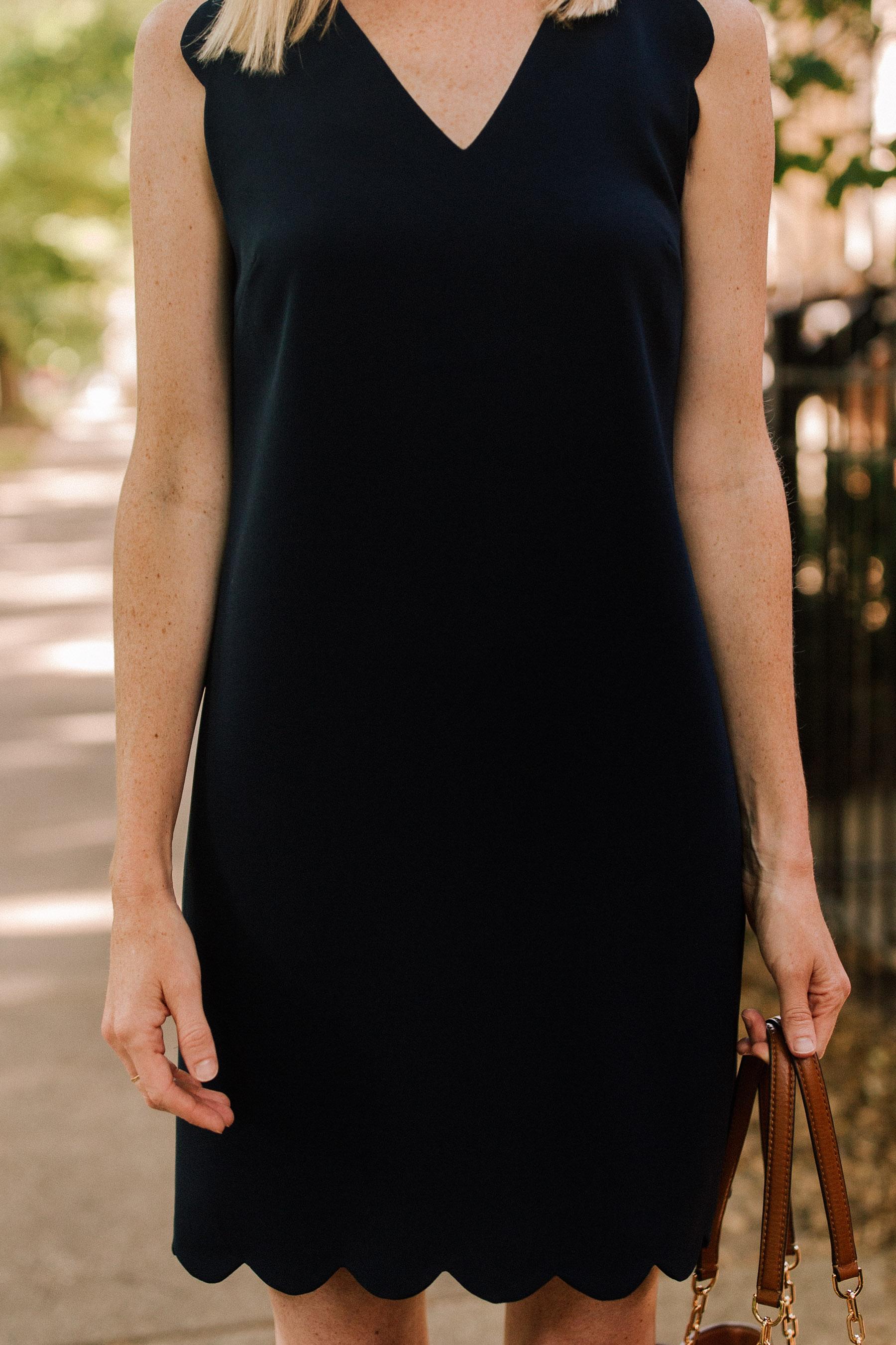 CeCe Scalloped Dress