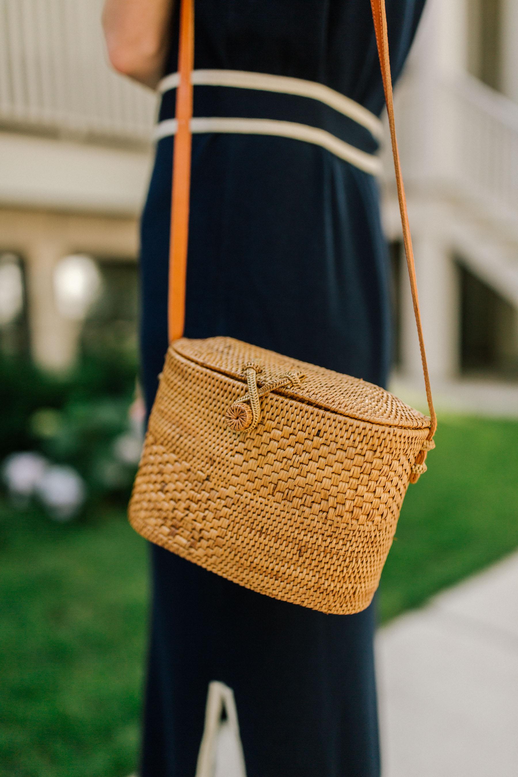 Poppy + Sage Woven Bag