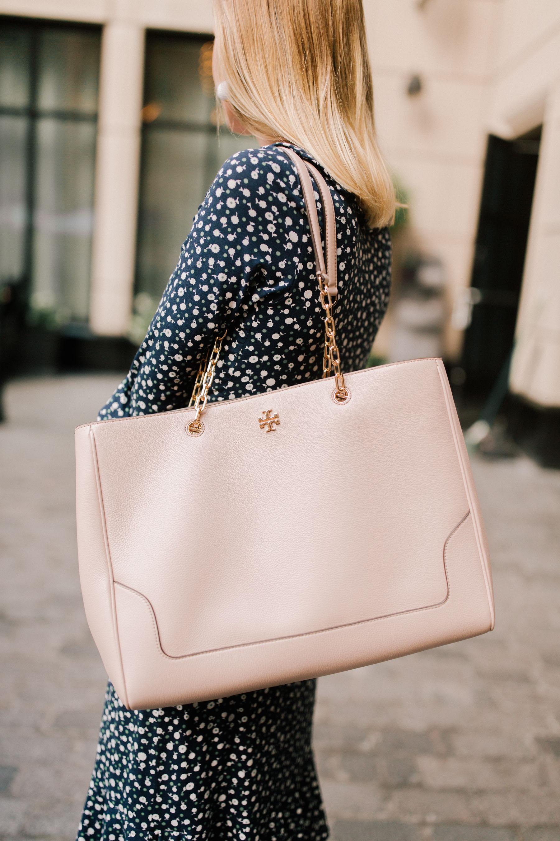 Tory Burch Marsden Tote | Kelly in the City