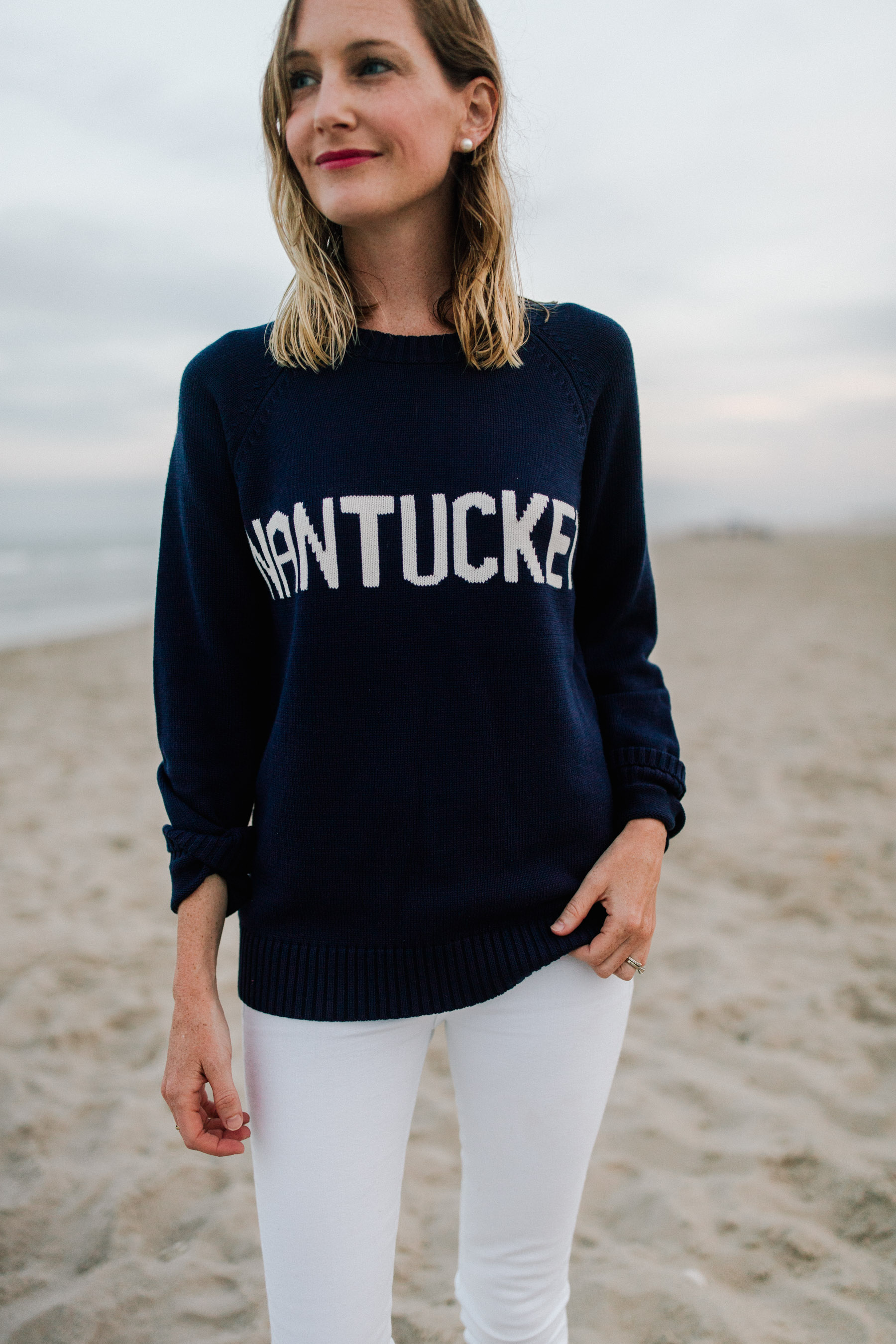 Nantucket Sweater | Kelly in the City