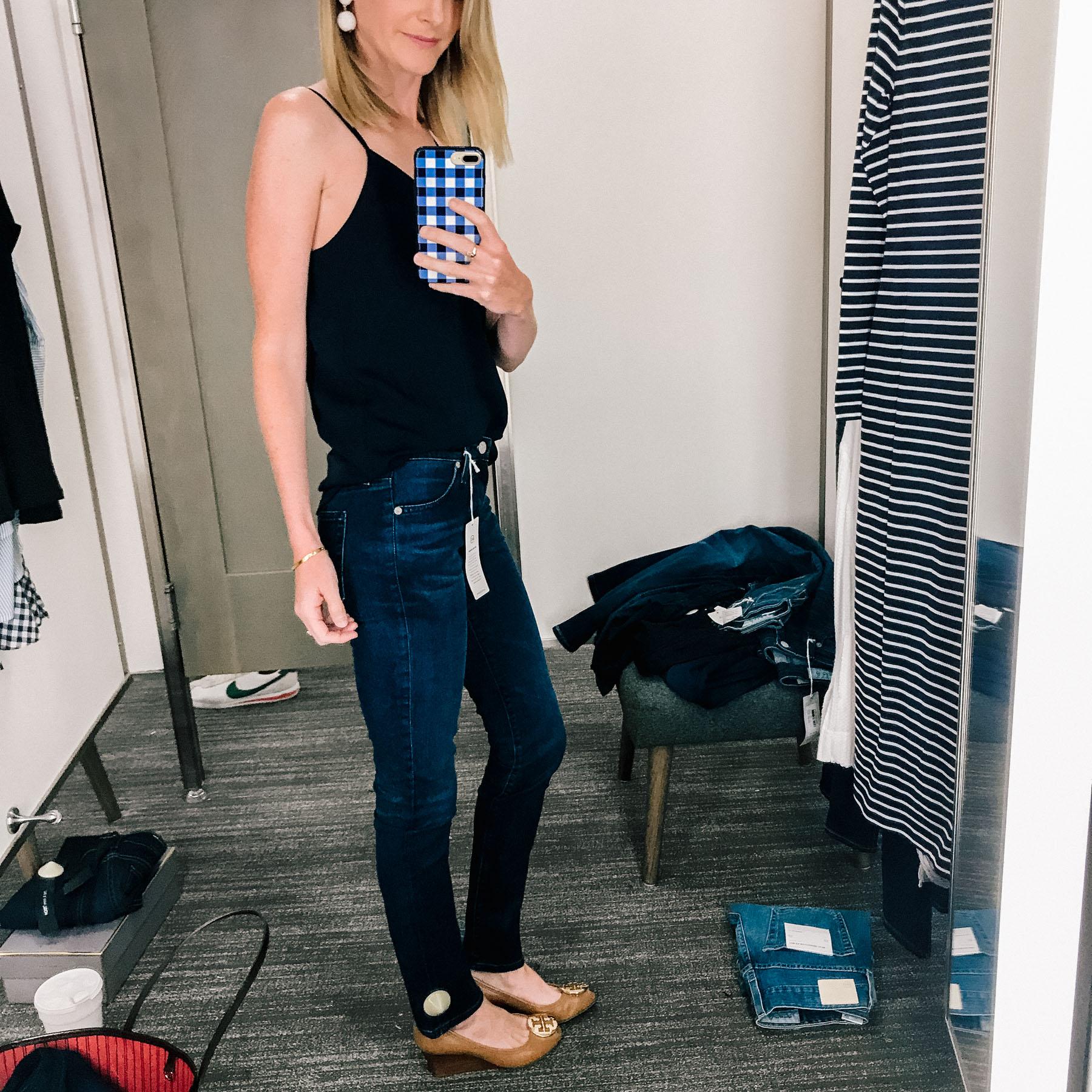 AG Skinny Farrah Ankle Jeans