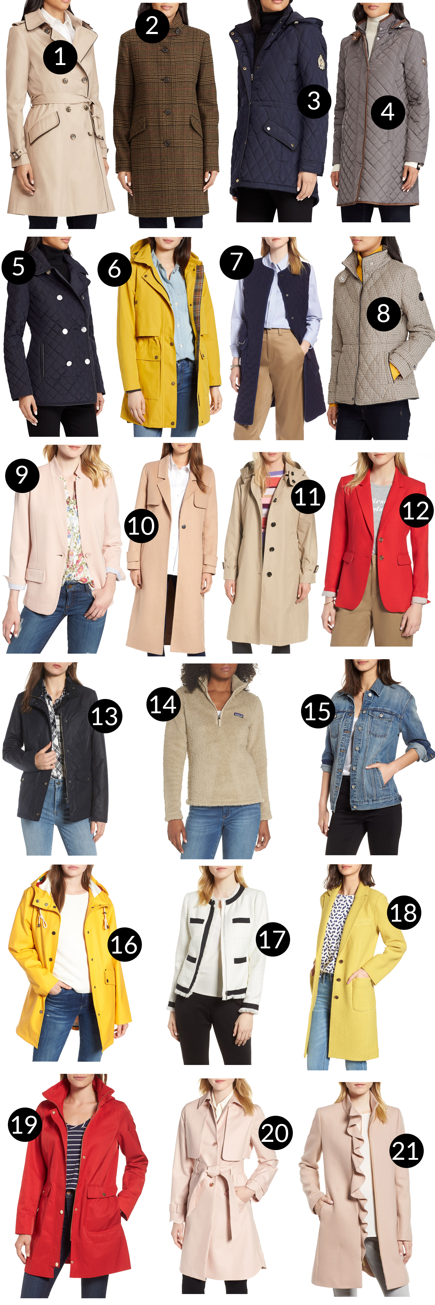 LIVE: Nordstrom Anniversary Sale coats