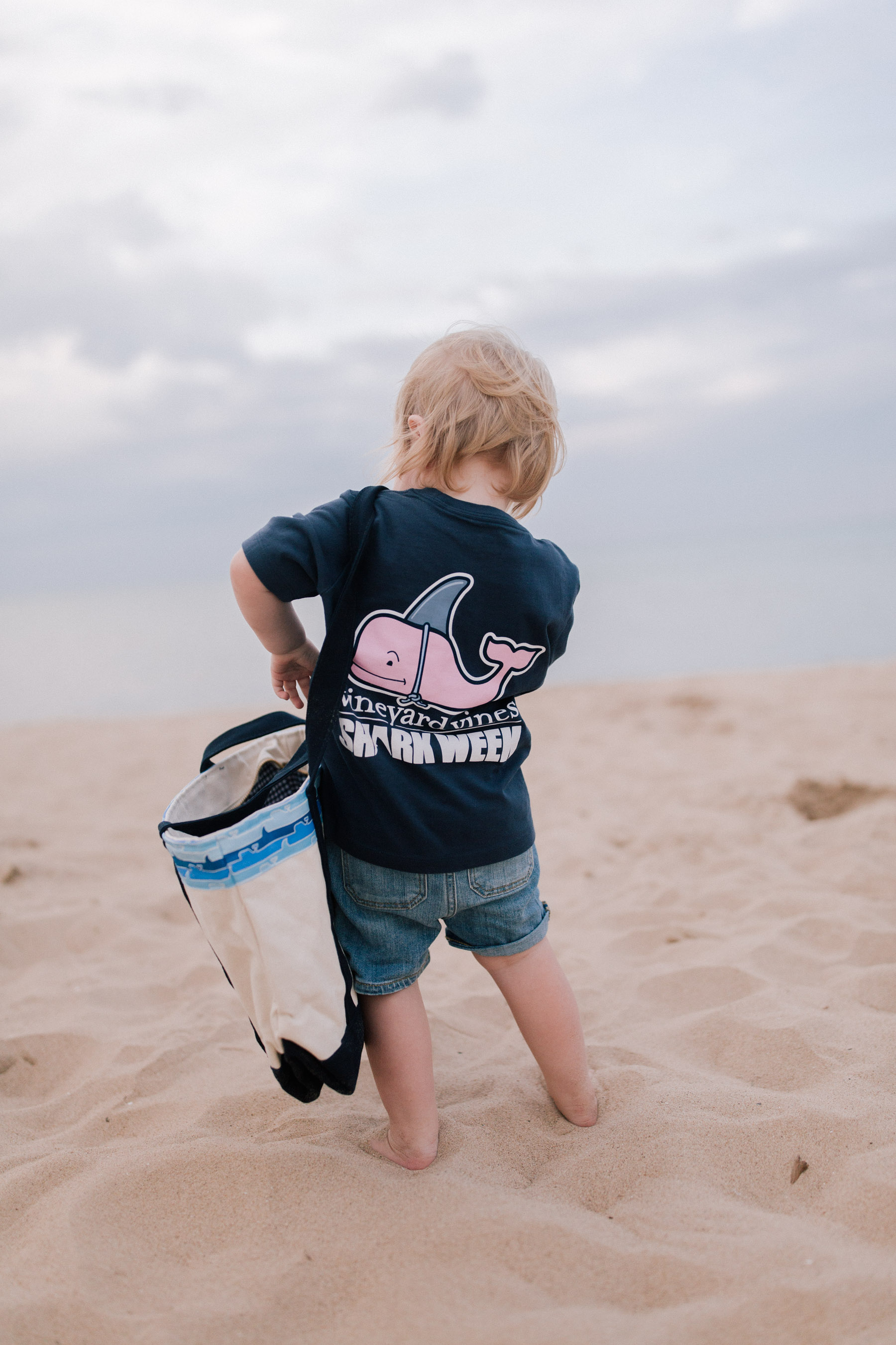 Kids Shark Week Decoy Whale Pocket T-Shirt