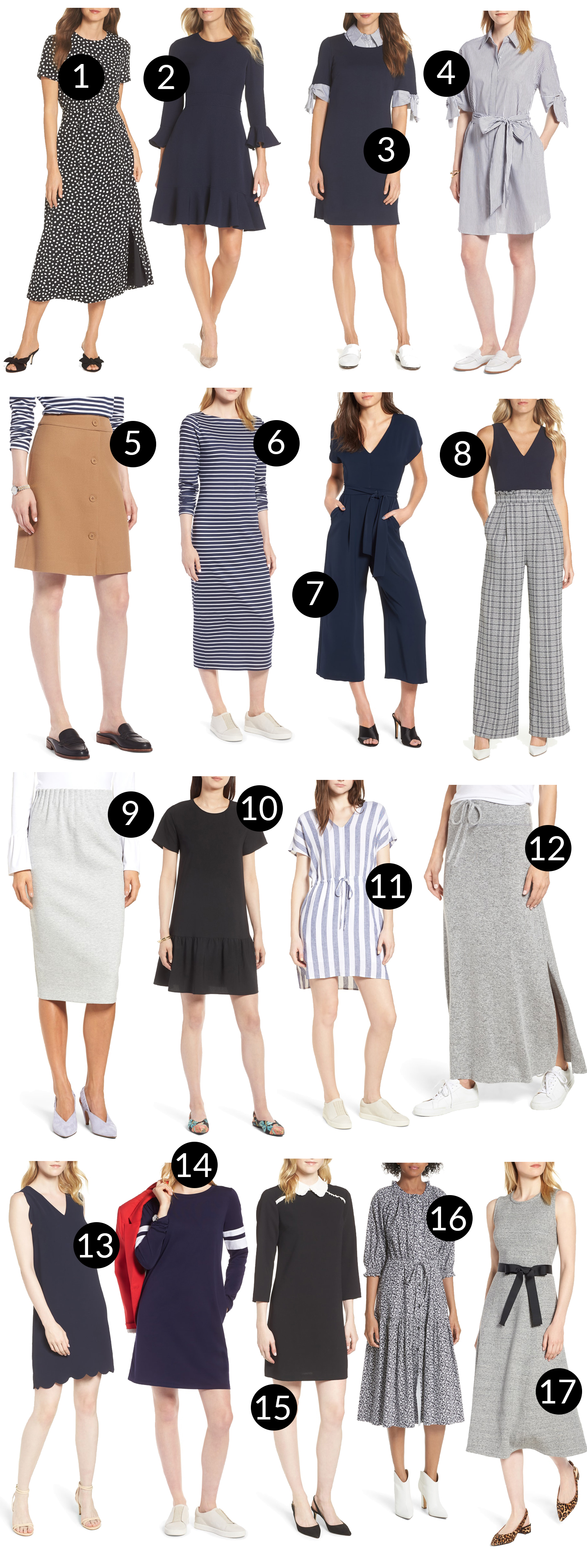 LIVE: Nordstrom Anniversary Sale dresses and skirts