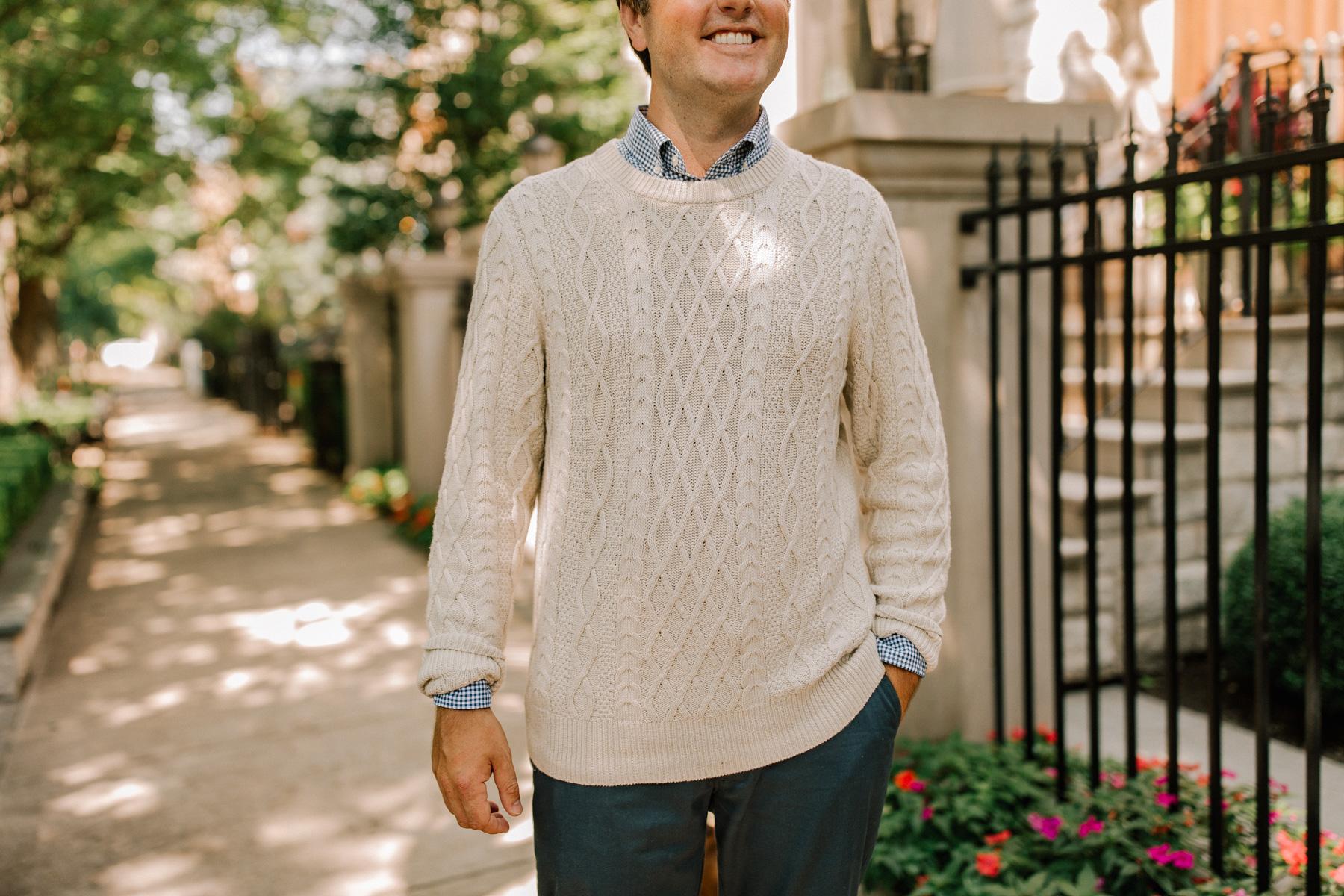 Mitch's Fisherman Sweater