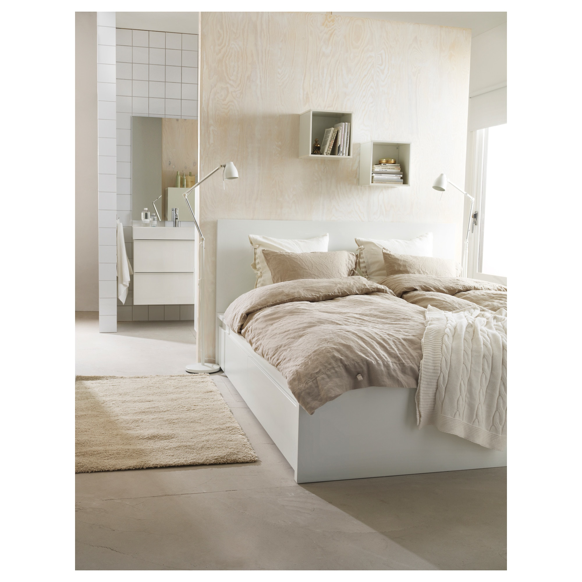 Malm Storage Bed ikea